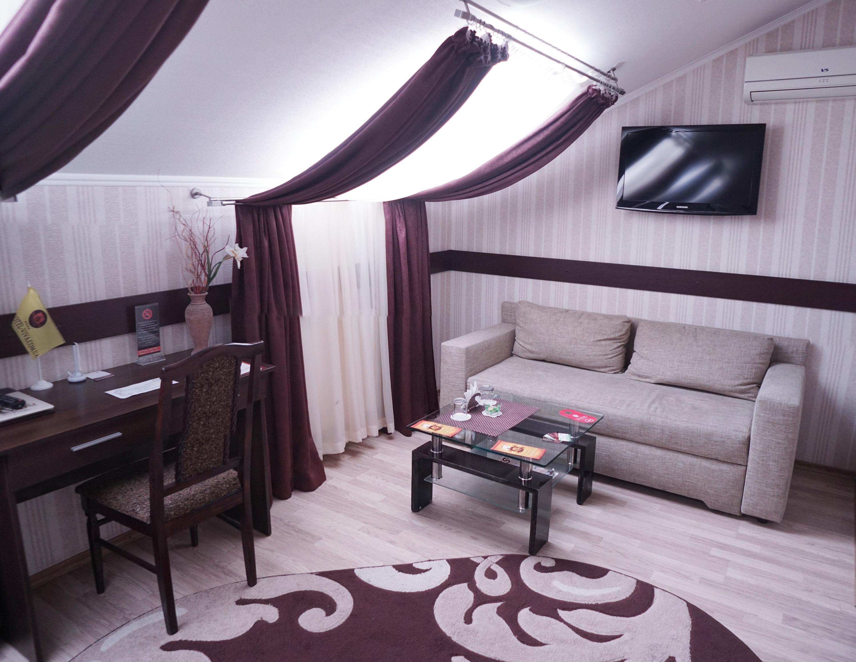 Mansard room at Viva Hotel