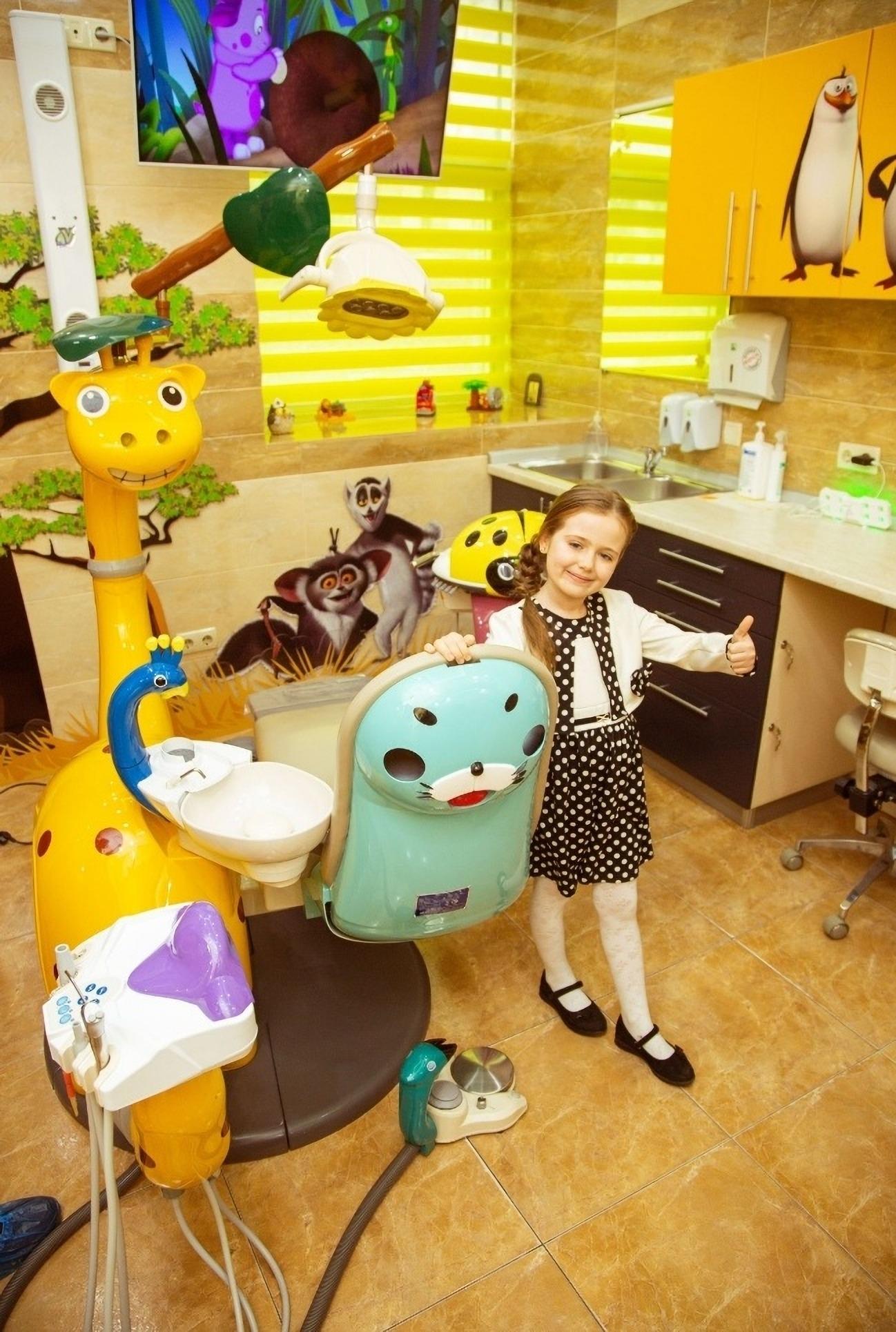 Children's dentistry office in misto dent kharkov