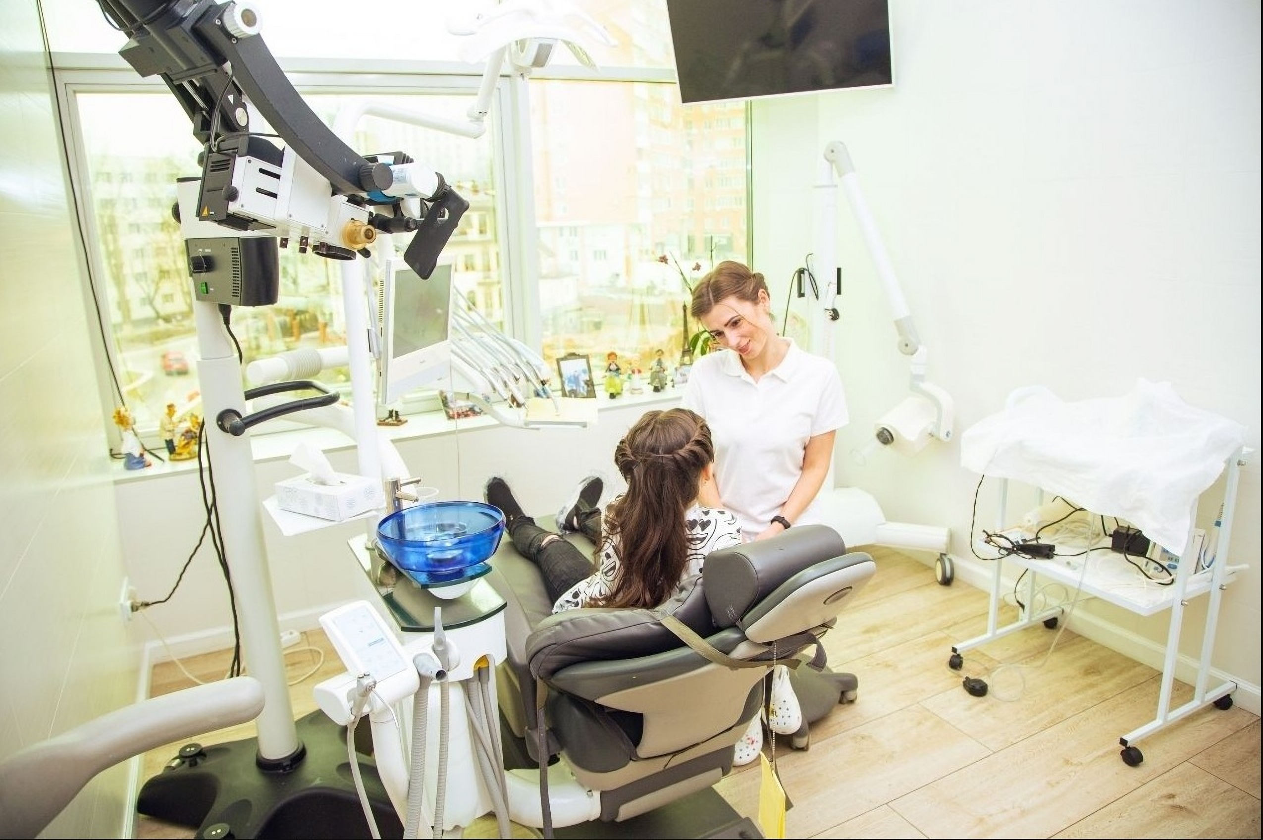 Dentist's appointment at the Misto Dent Clinic