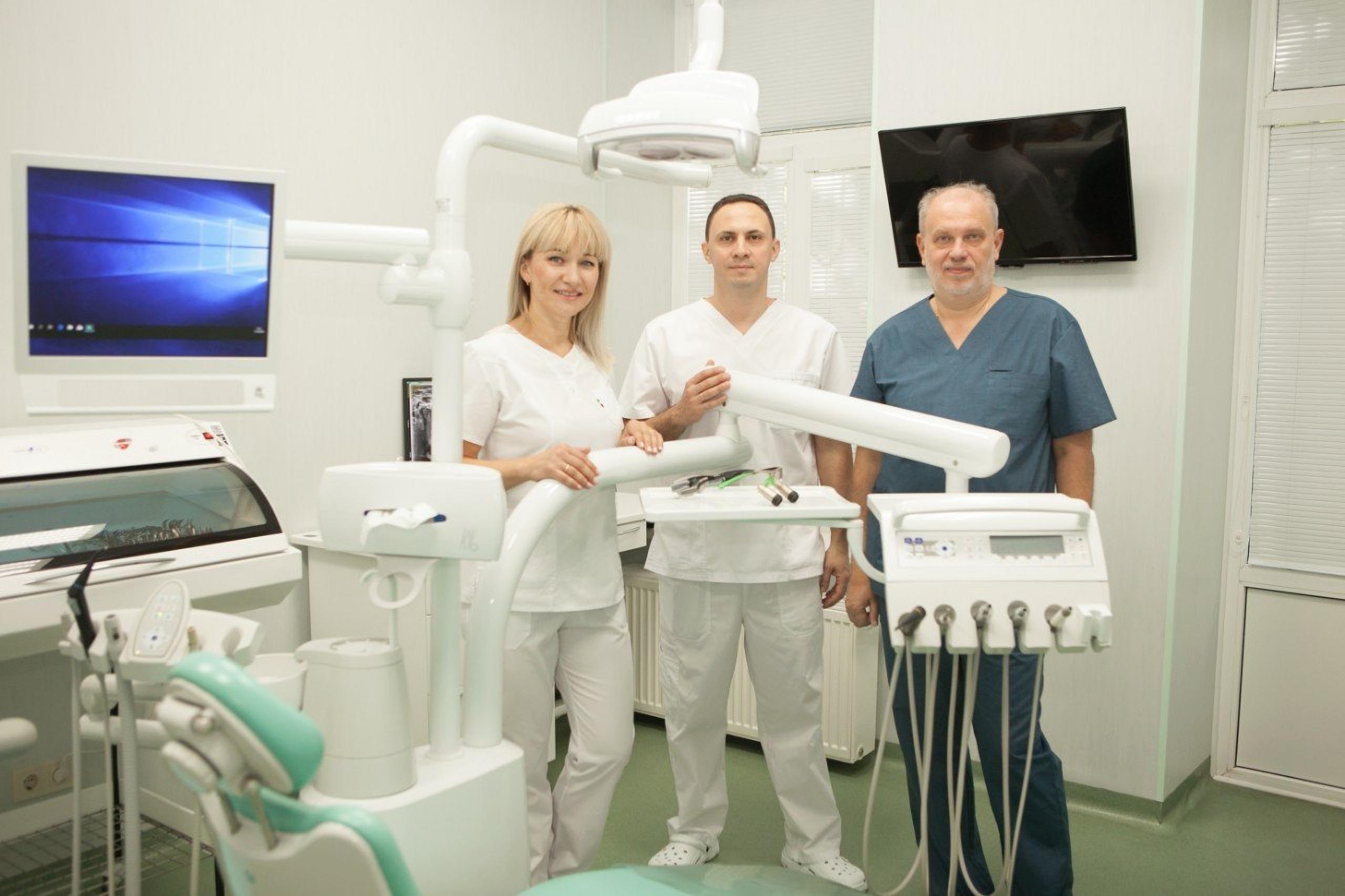 Service in the clinic TrioDent Odessa Ukraine