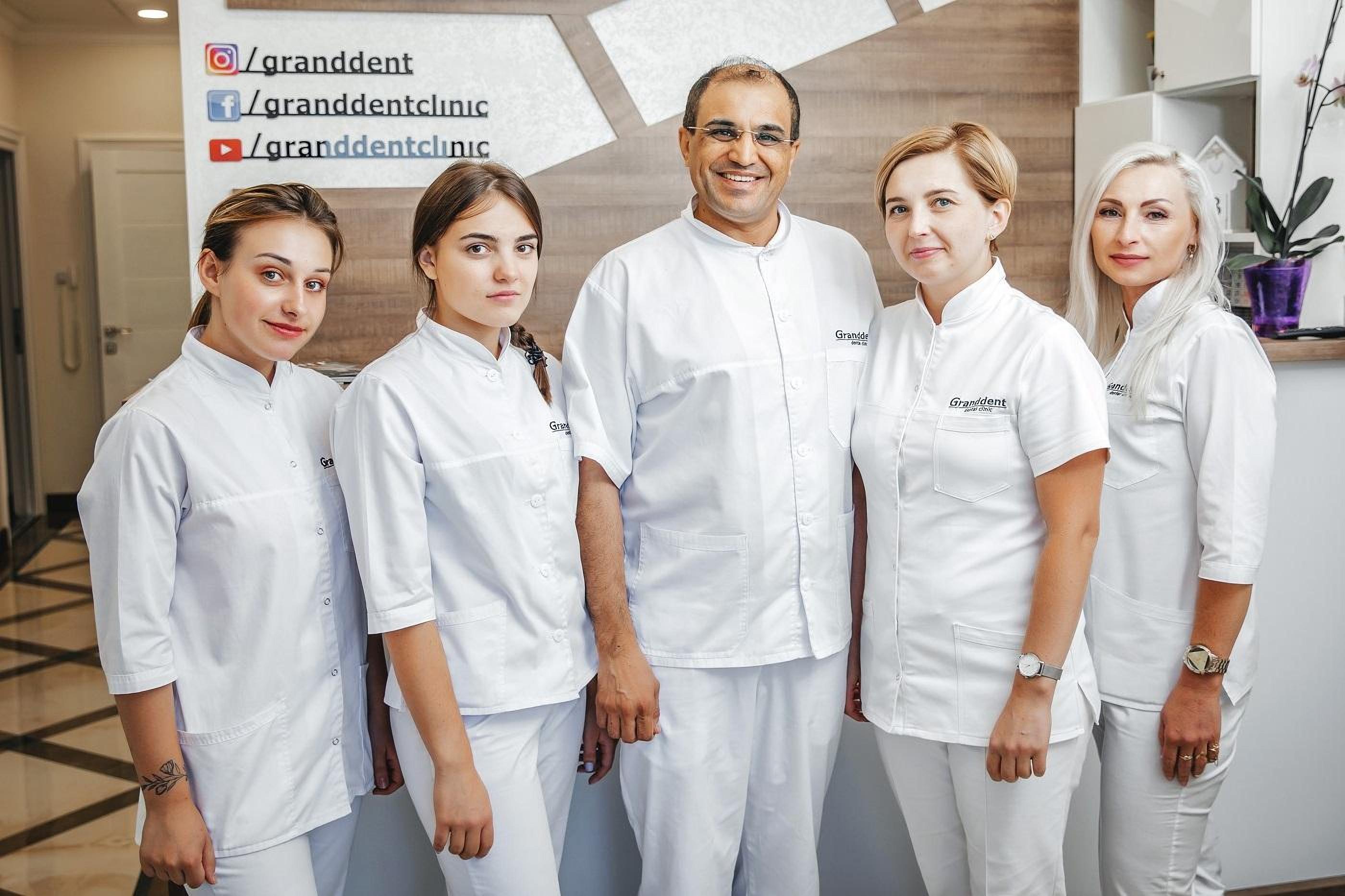 Doctors of Dental Clinic Granddent in Odessa Ukraine