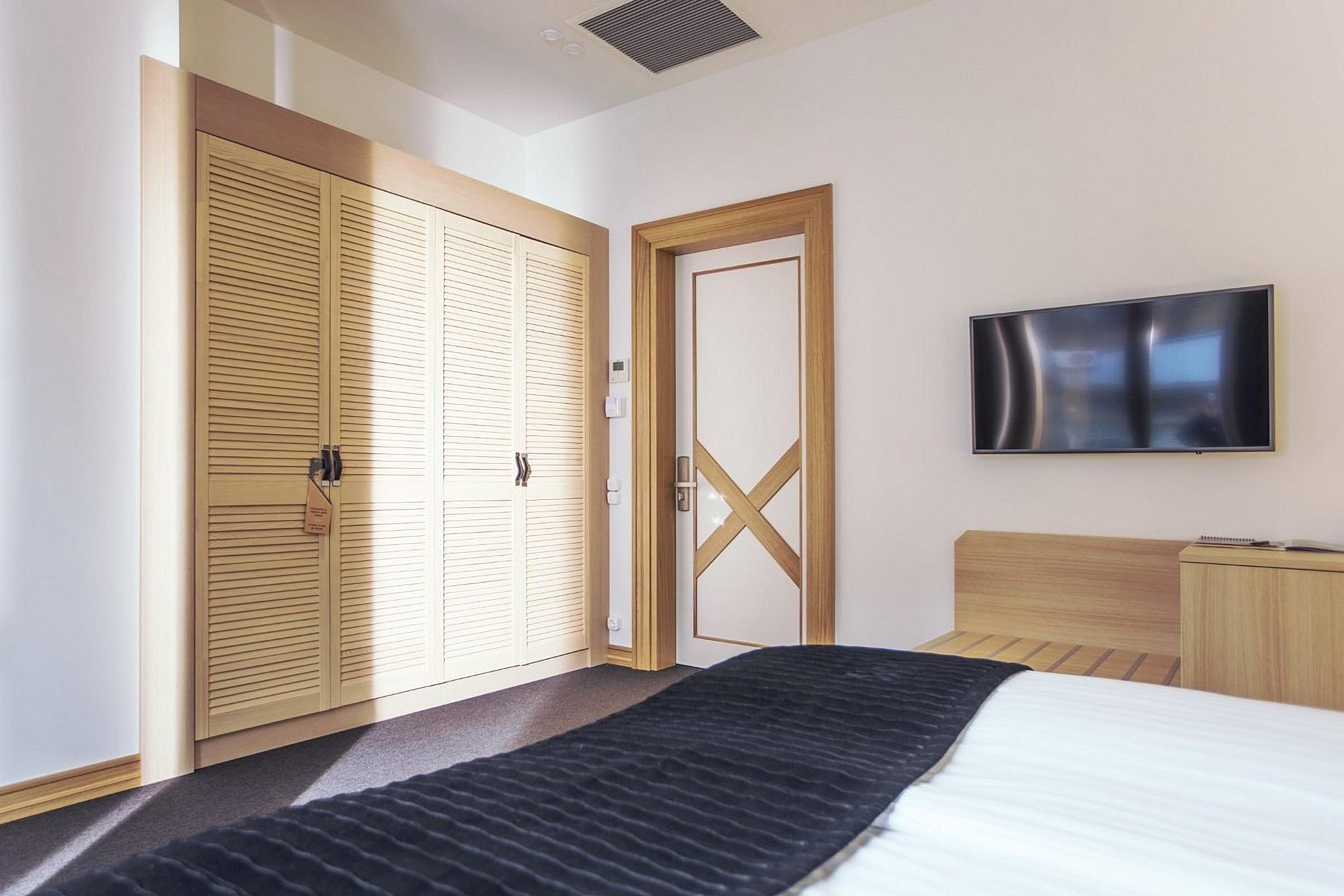 Bright Room at Wall Street Hotel Odessa Ukraine