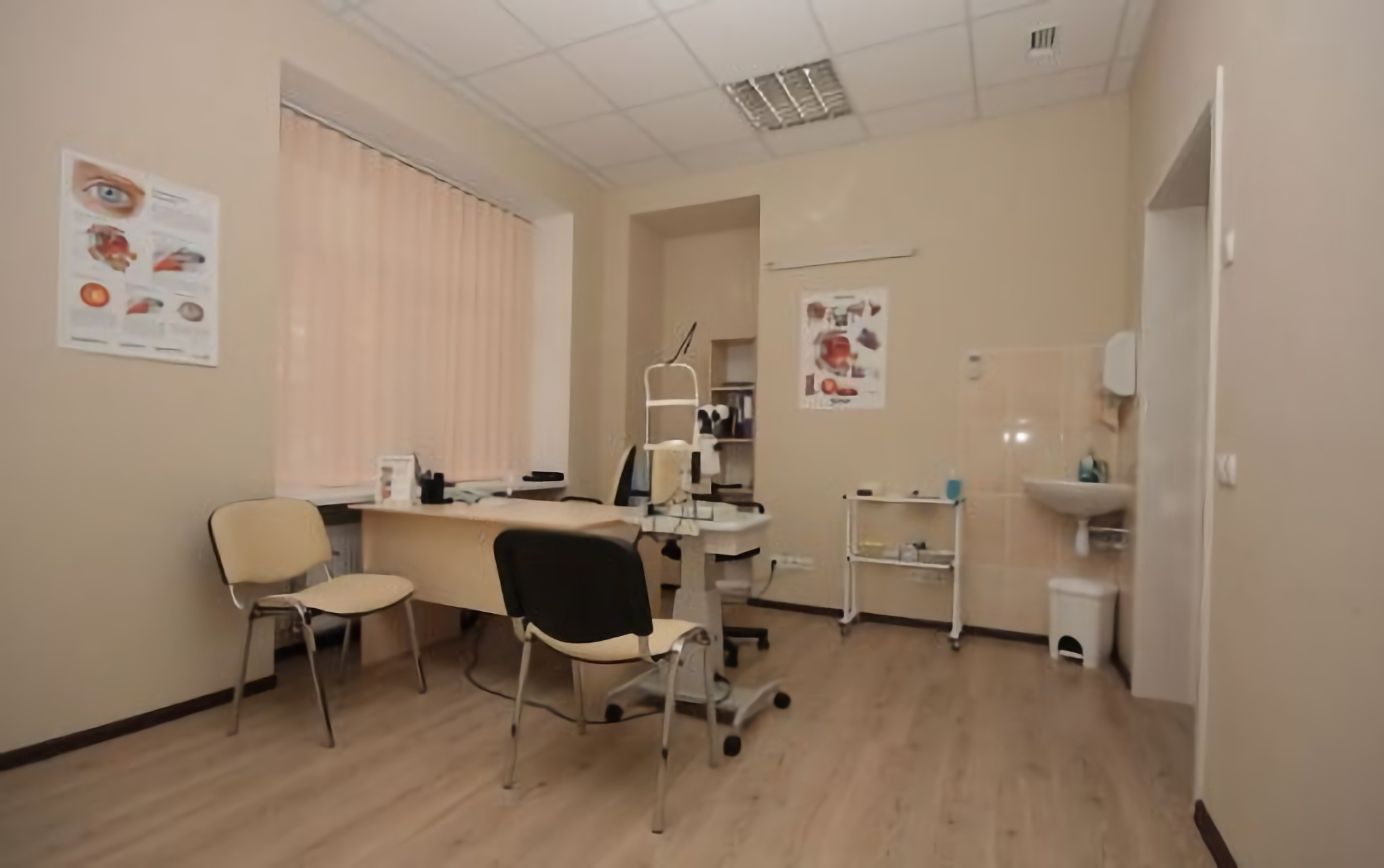 The office of an ophthalmologist in the clinic Novy Zir Kharkiv