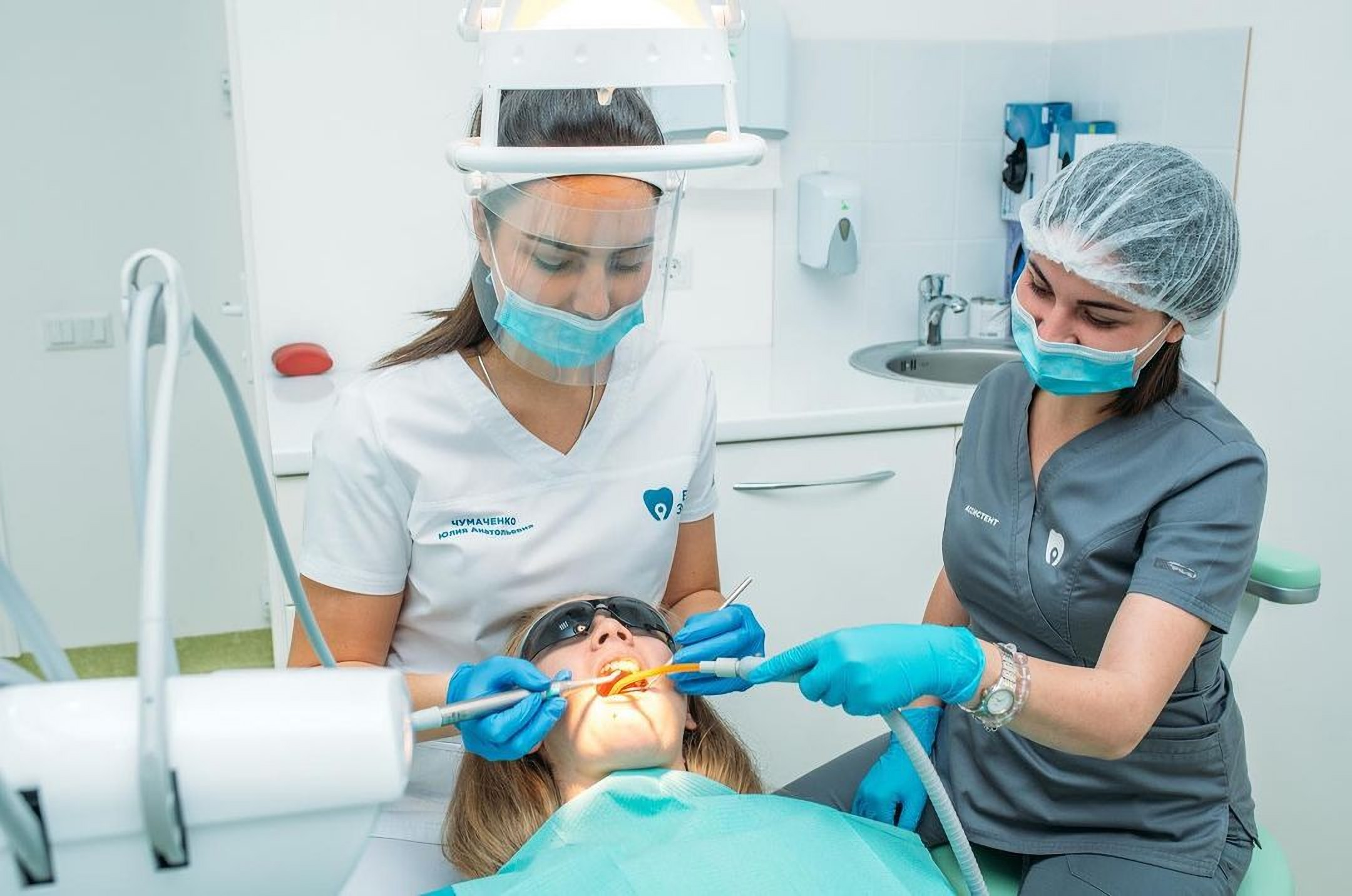 Dental cleaning in the dental clinic Your Dentist in Odessa Ukraine