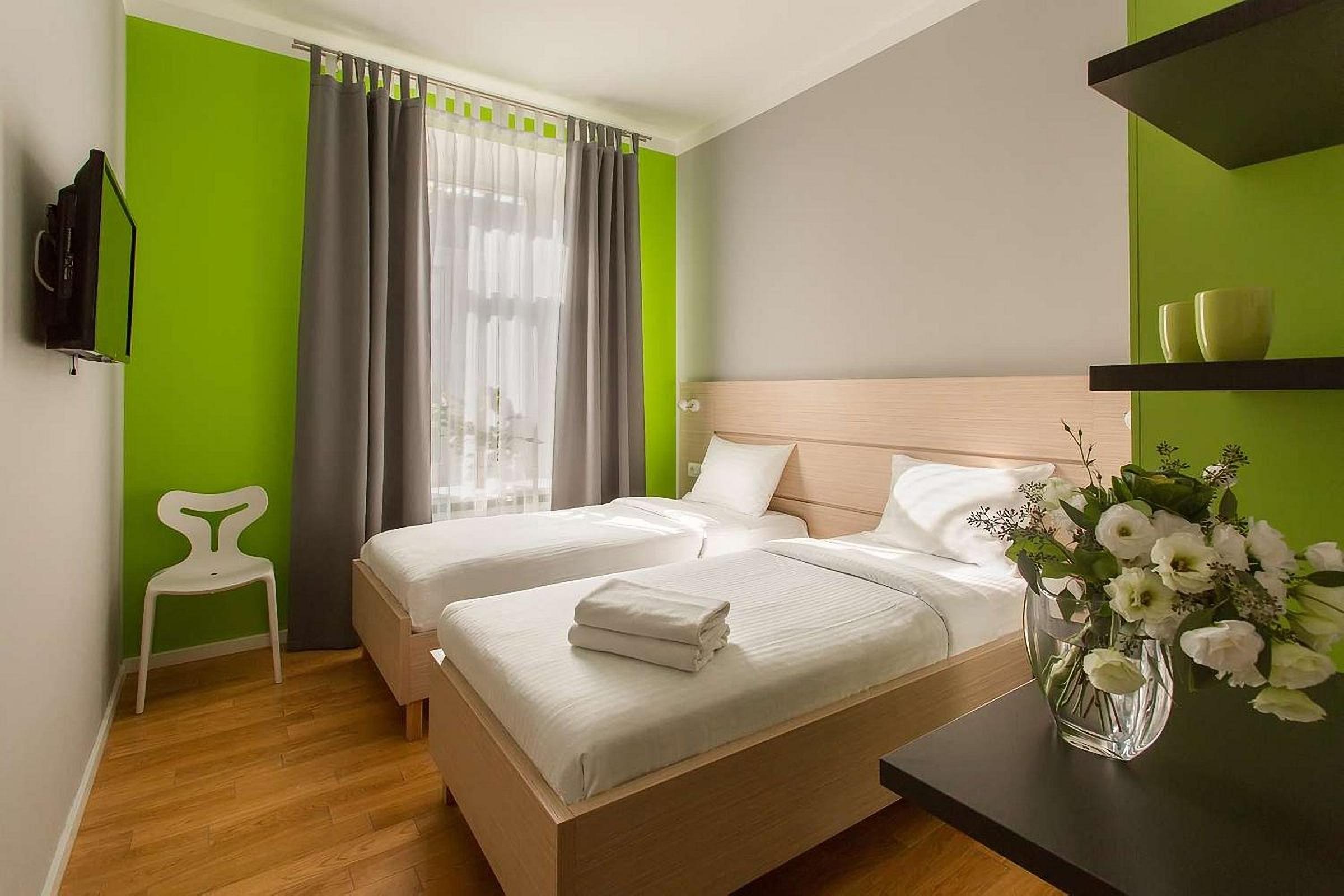 Double room in the UNO Design Hotel Odessa Ukraine