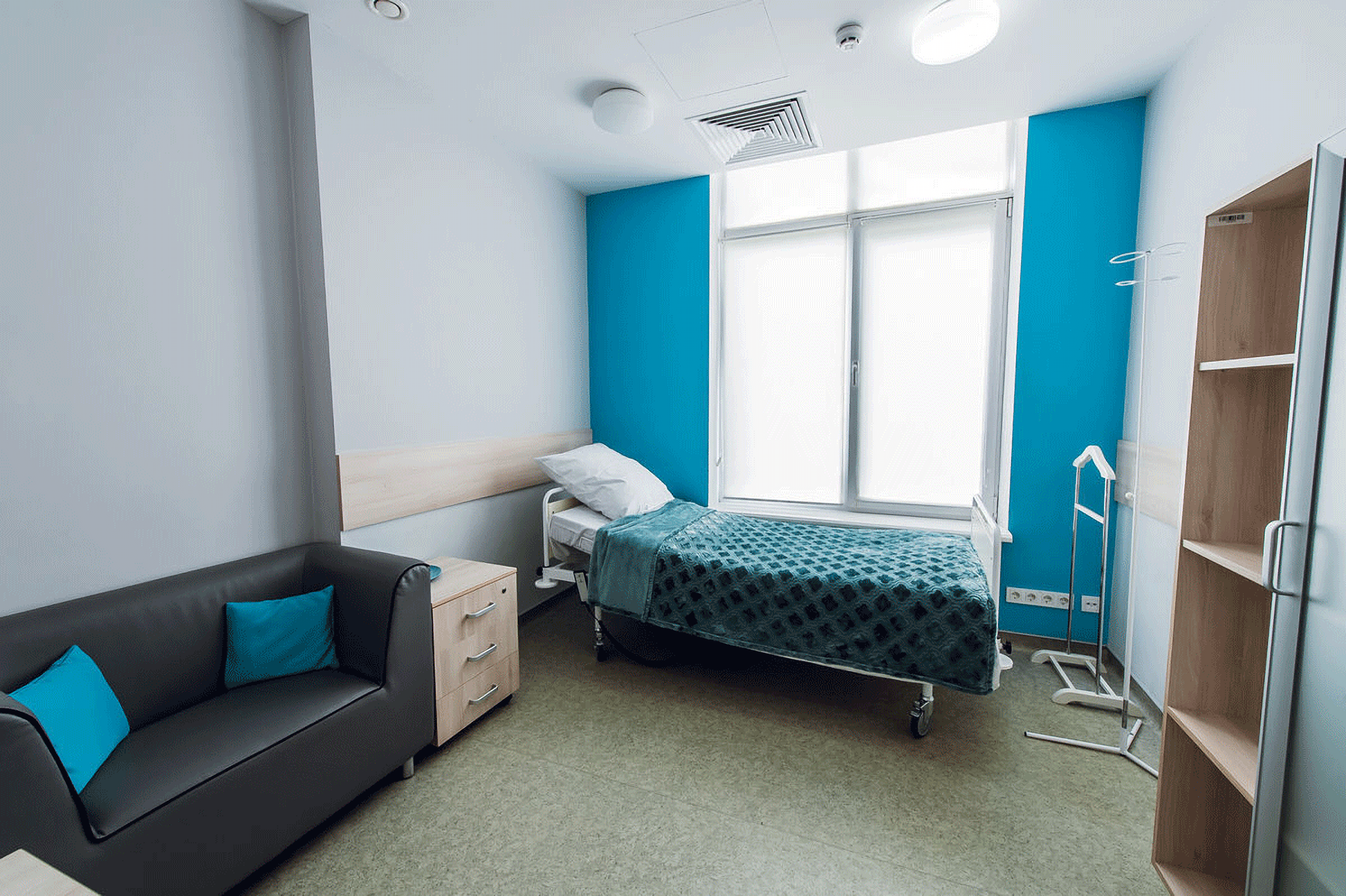 Room in the GOOD CELLS Clinic Ukraine