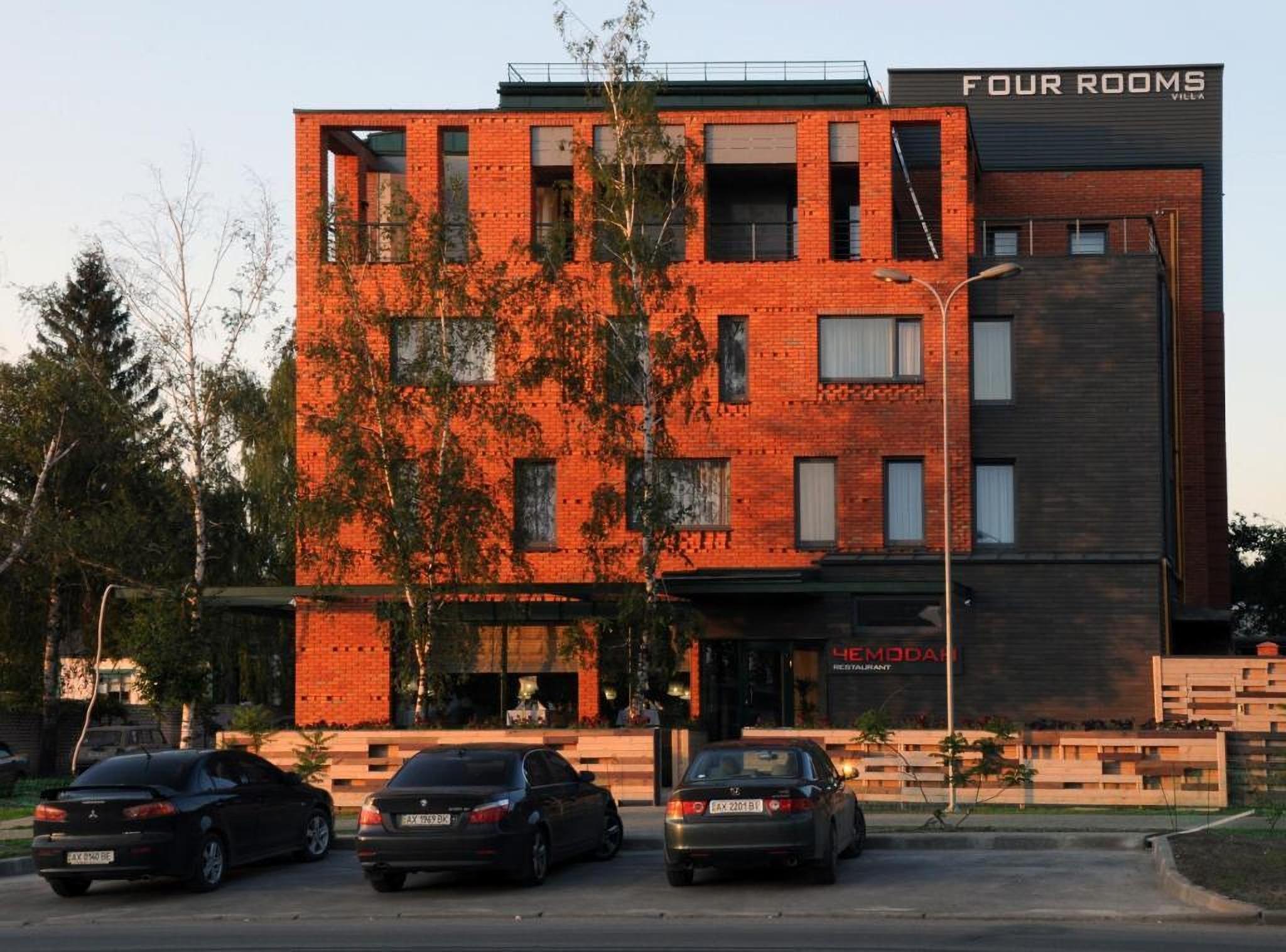 Villa Four Rooms Hotel, Kharkiv