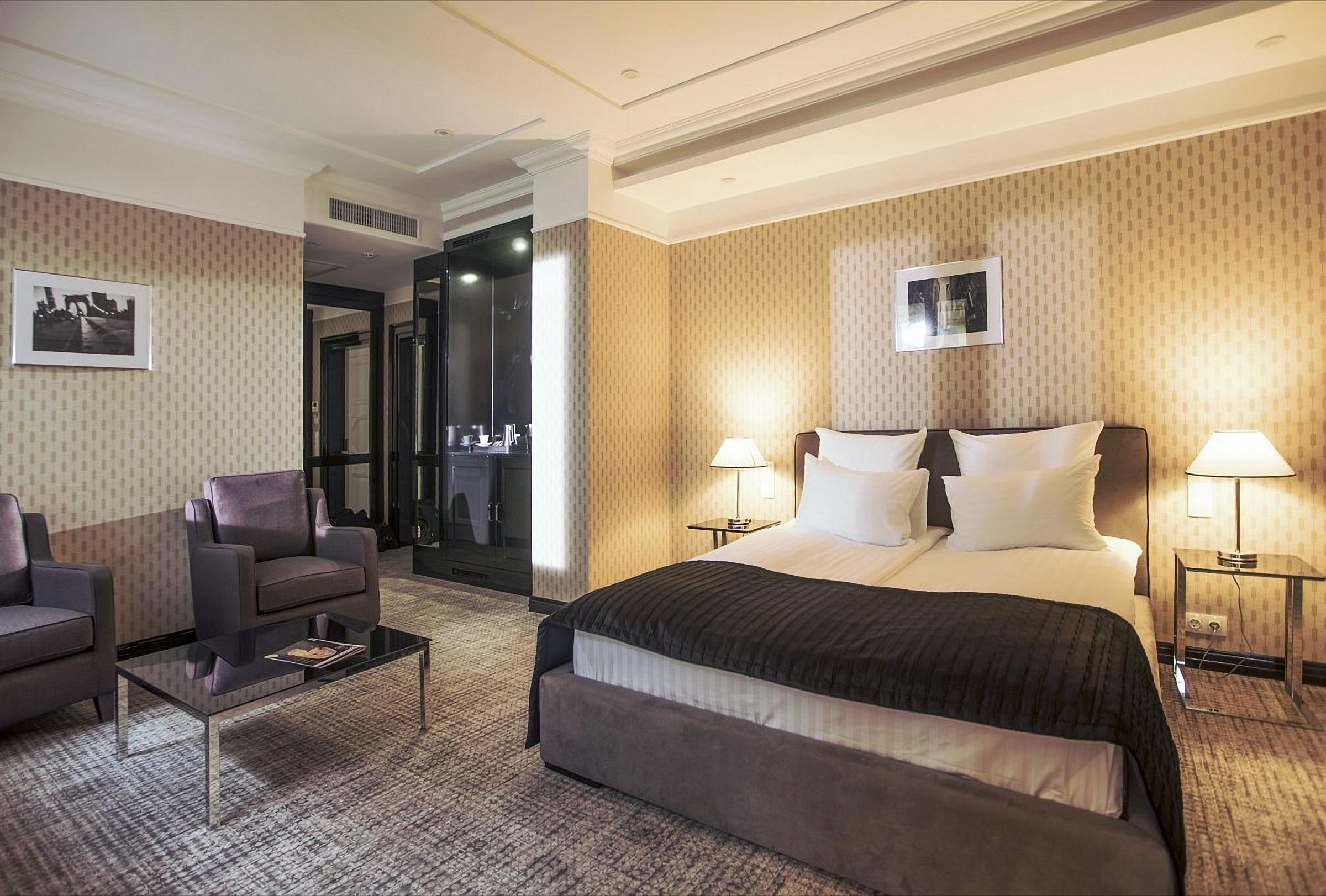 Room at the Wall Street Hotel Odessa Ukraine