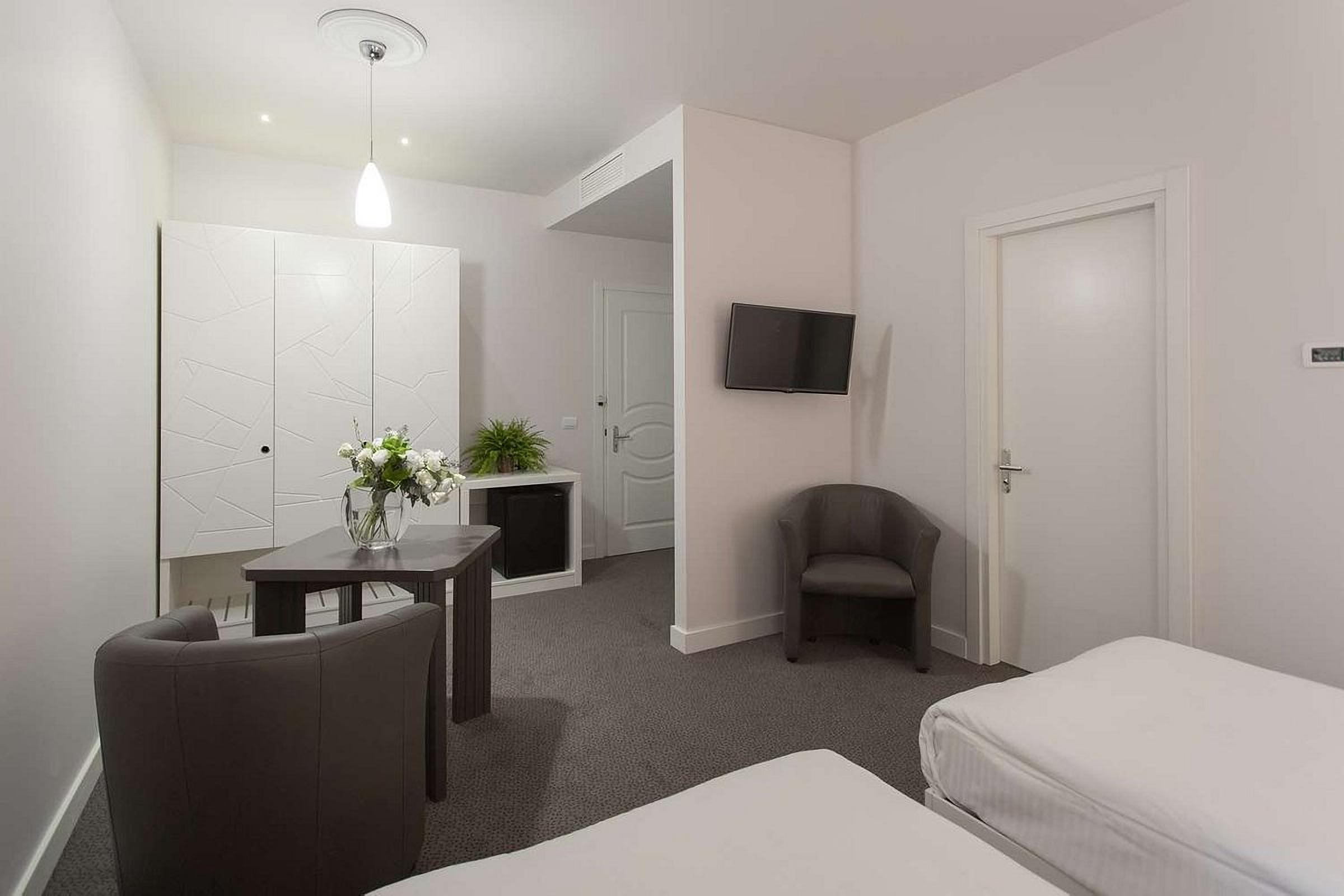 Double room in UNO Design Hotel Odessa Ukraine