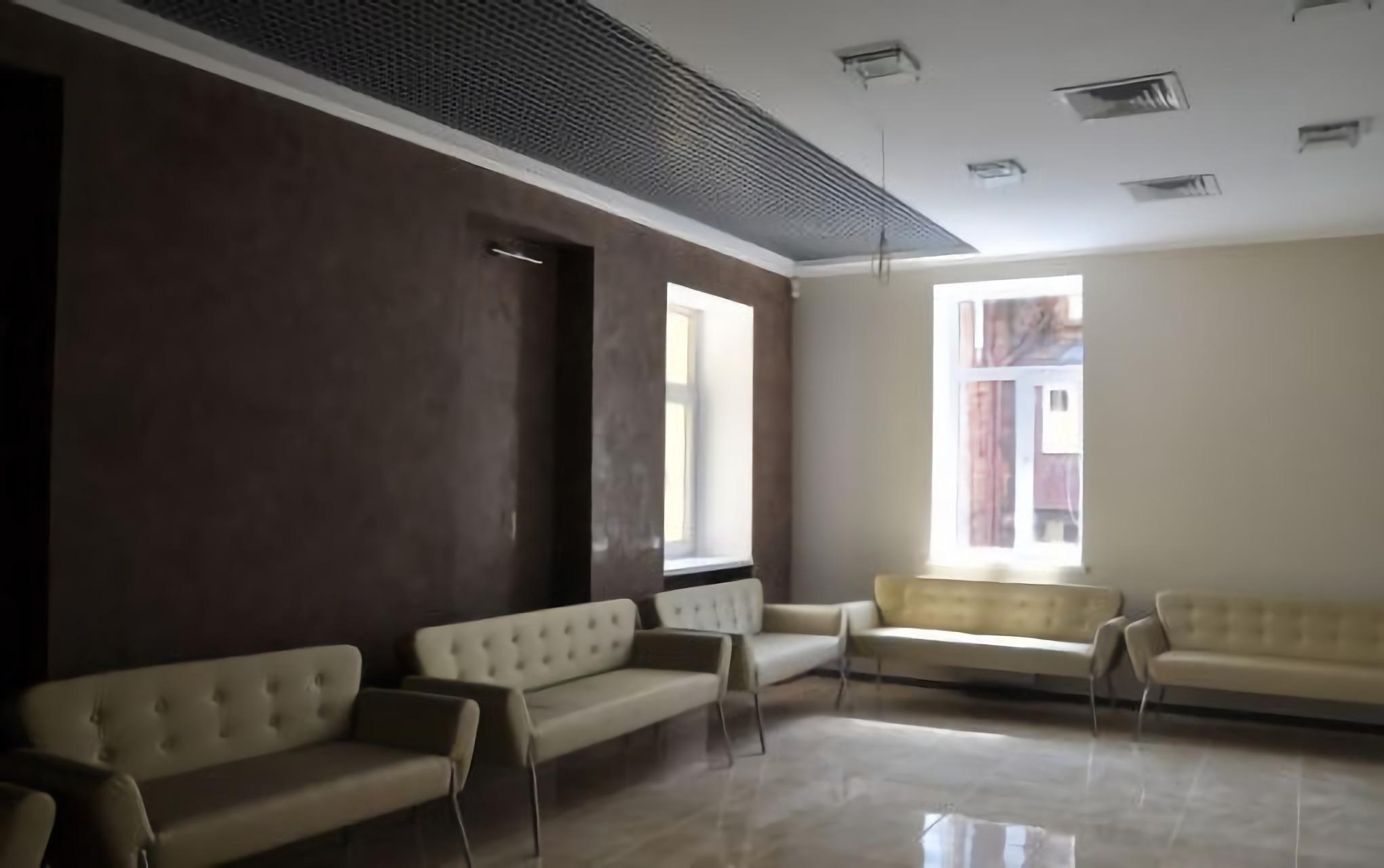 Waiting room at the Novy Zir Eye Center