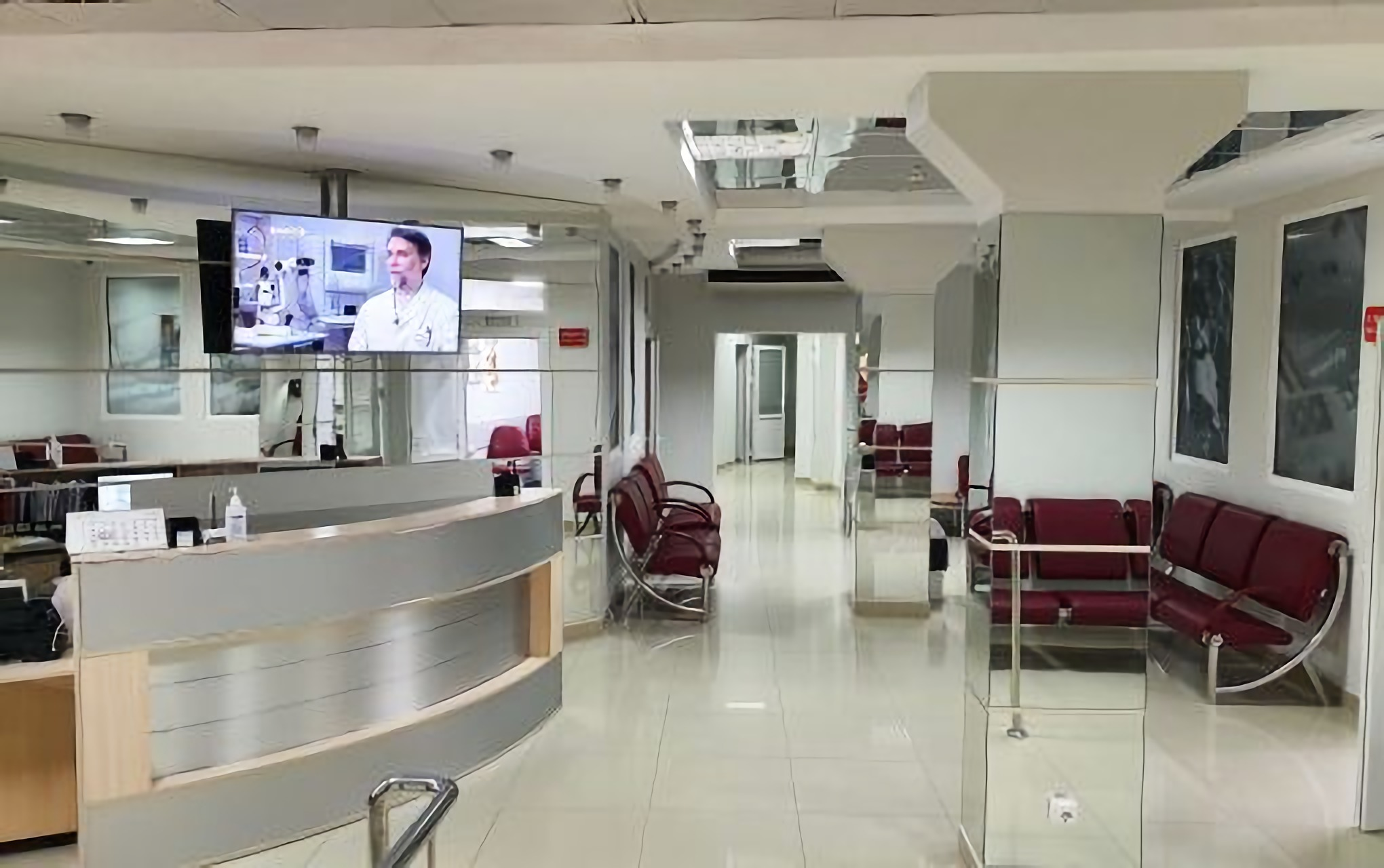 Reception at the New Zir Clinic
