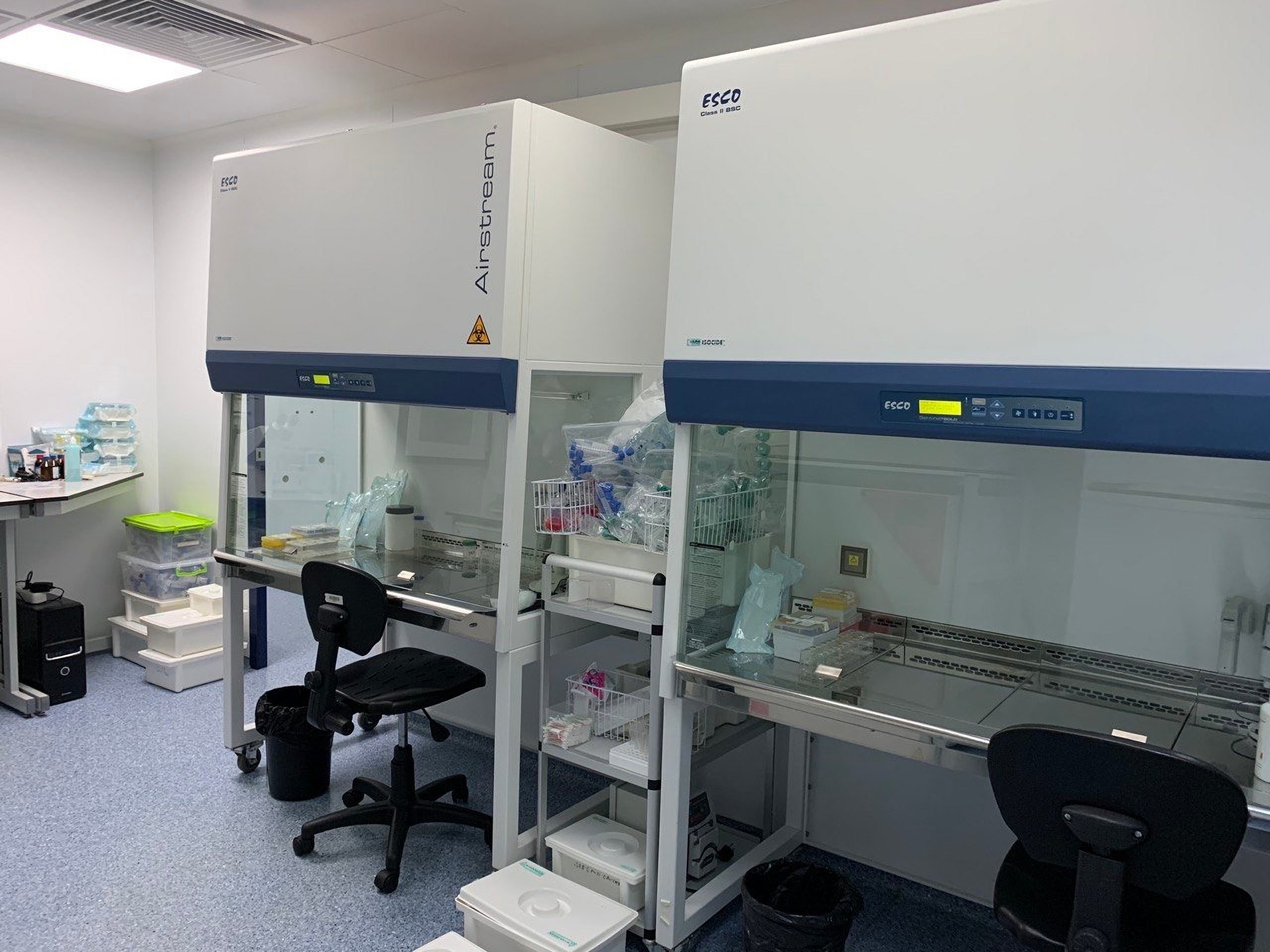 Research equipment in GOOD CELLS Clinic Ukraine