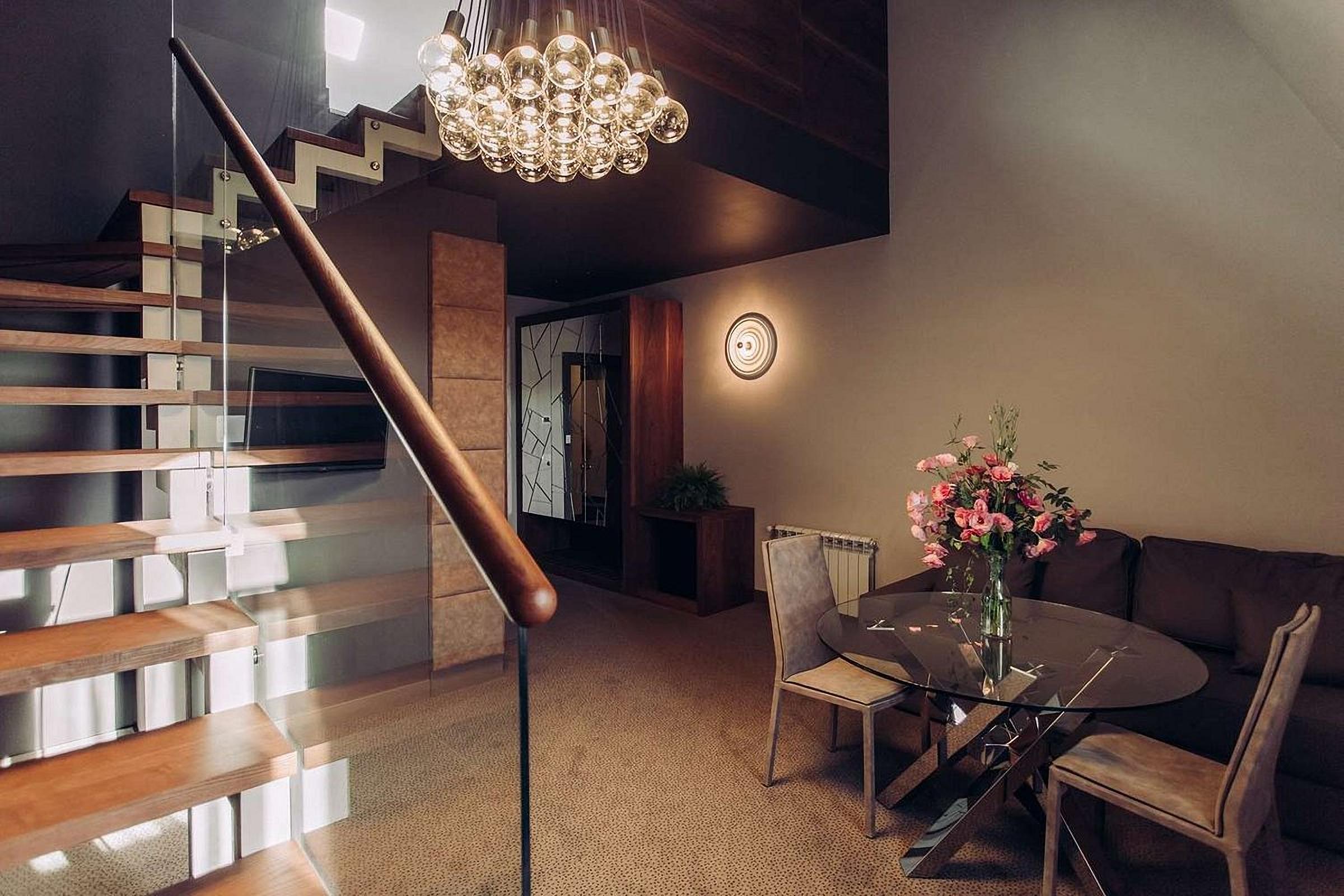Two-level suite at UNO Design Hotel Odessa Ukraine