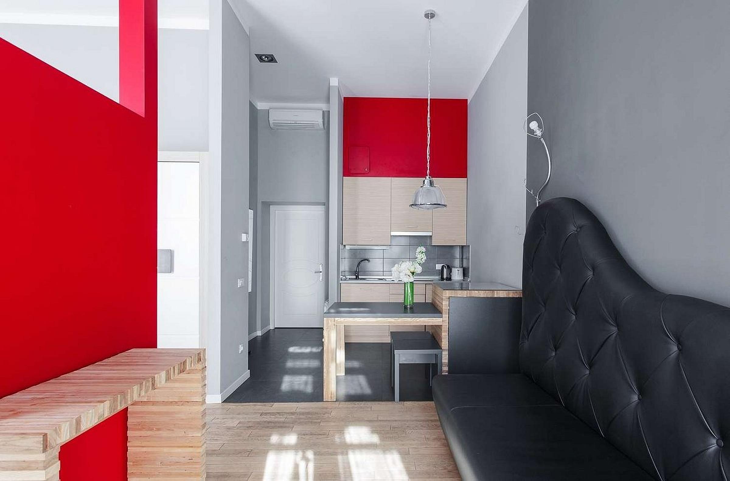UNO Design Hotel Odessa Ukraine room amenities