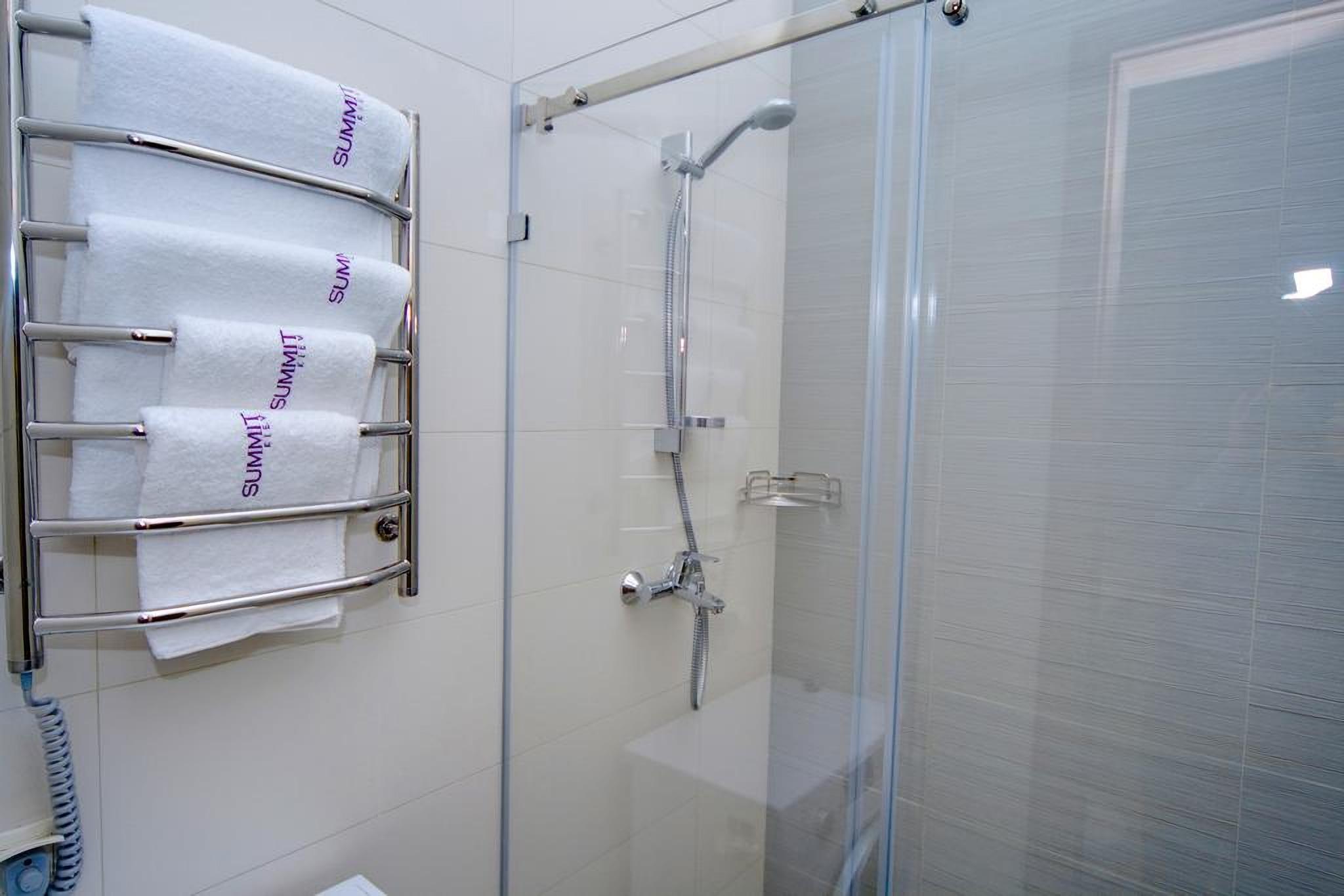 Shower cabin in Kiev hotel