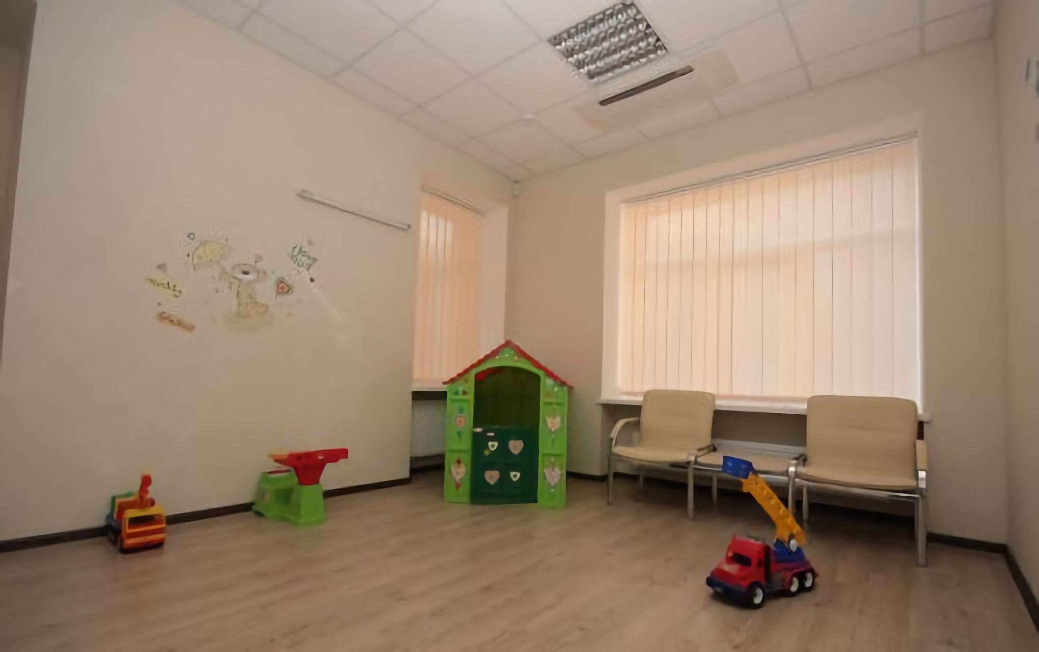 Children's room in the Novy Zir Eye Center