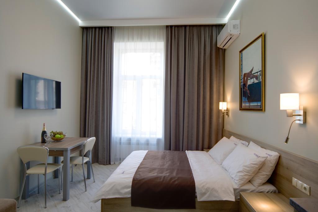 Modern hotel room in Kiev