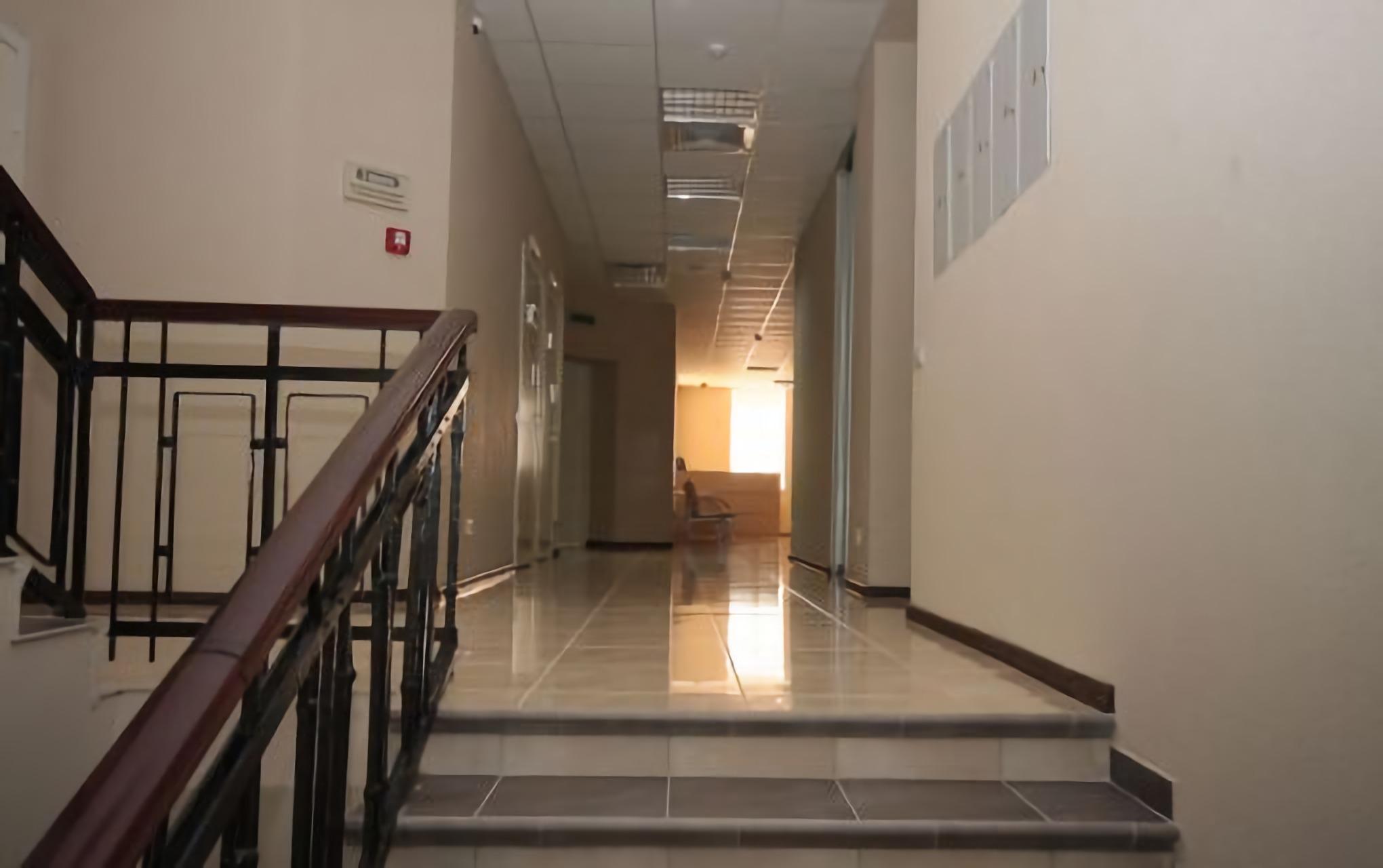 Corridor in the clinic Novy Zir Kharkiv