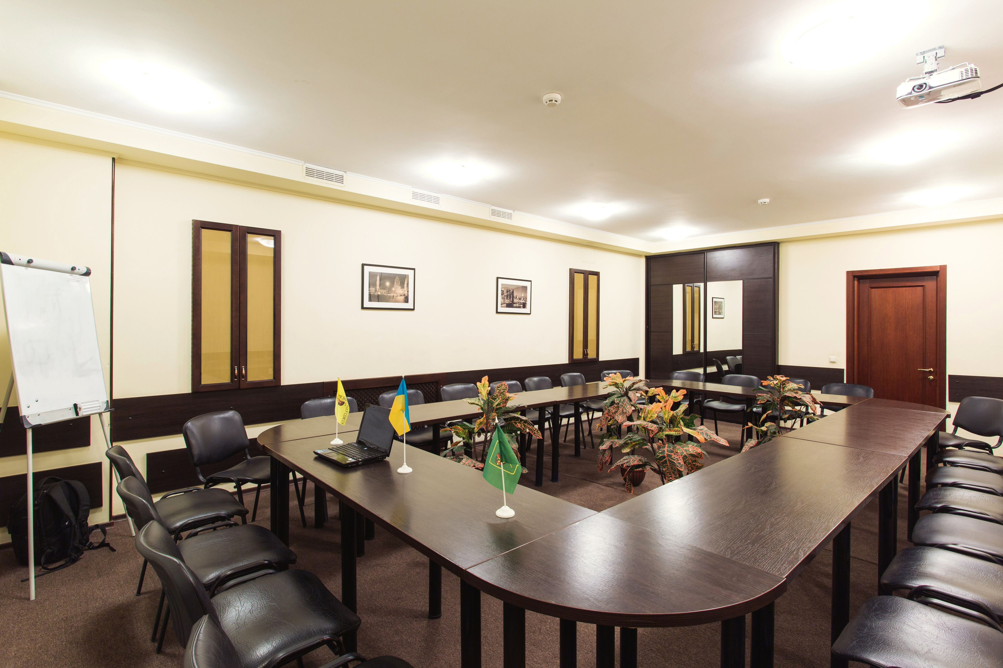 Conference room at the Viva Hotel