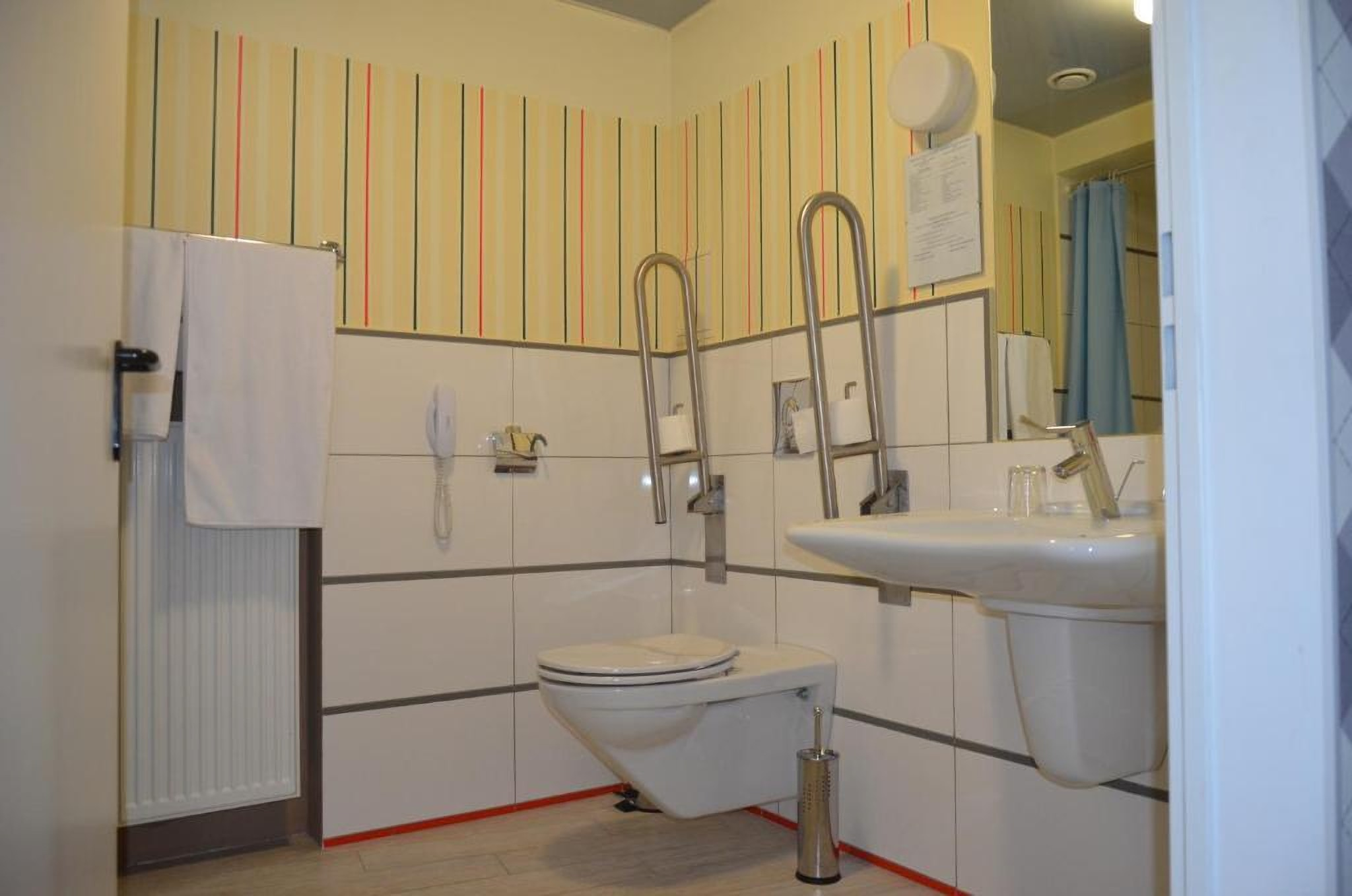 A Bathroom for people with disabilities