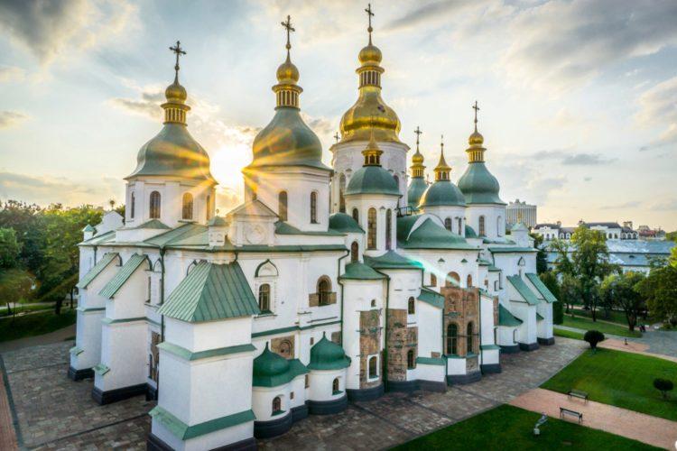Church in Kiev Ukraine