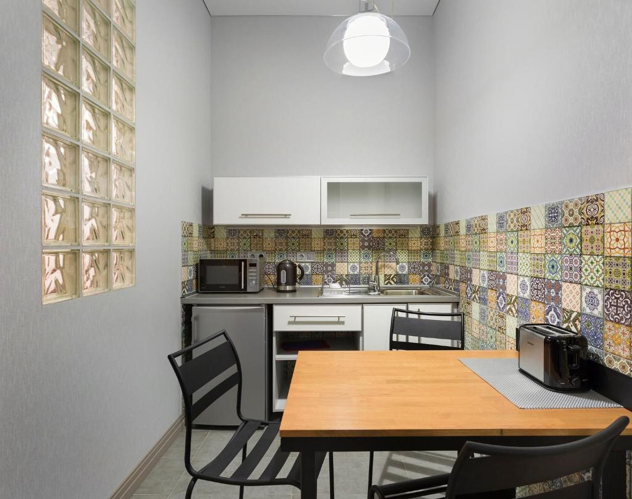 A Kitchen in a room