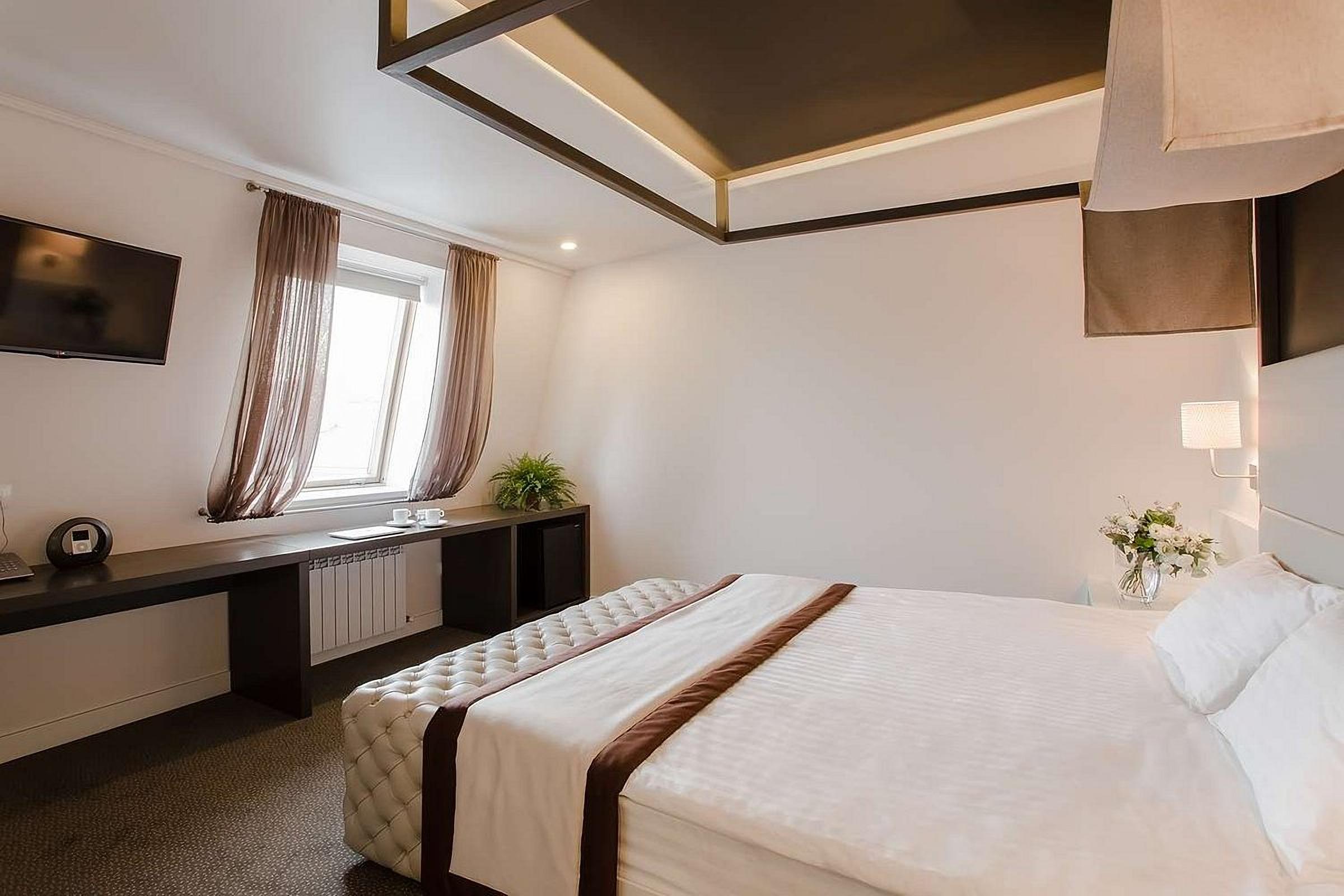 Large and bright room at UNO Design Hotel Odessa Ukraine
