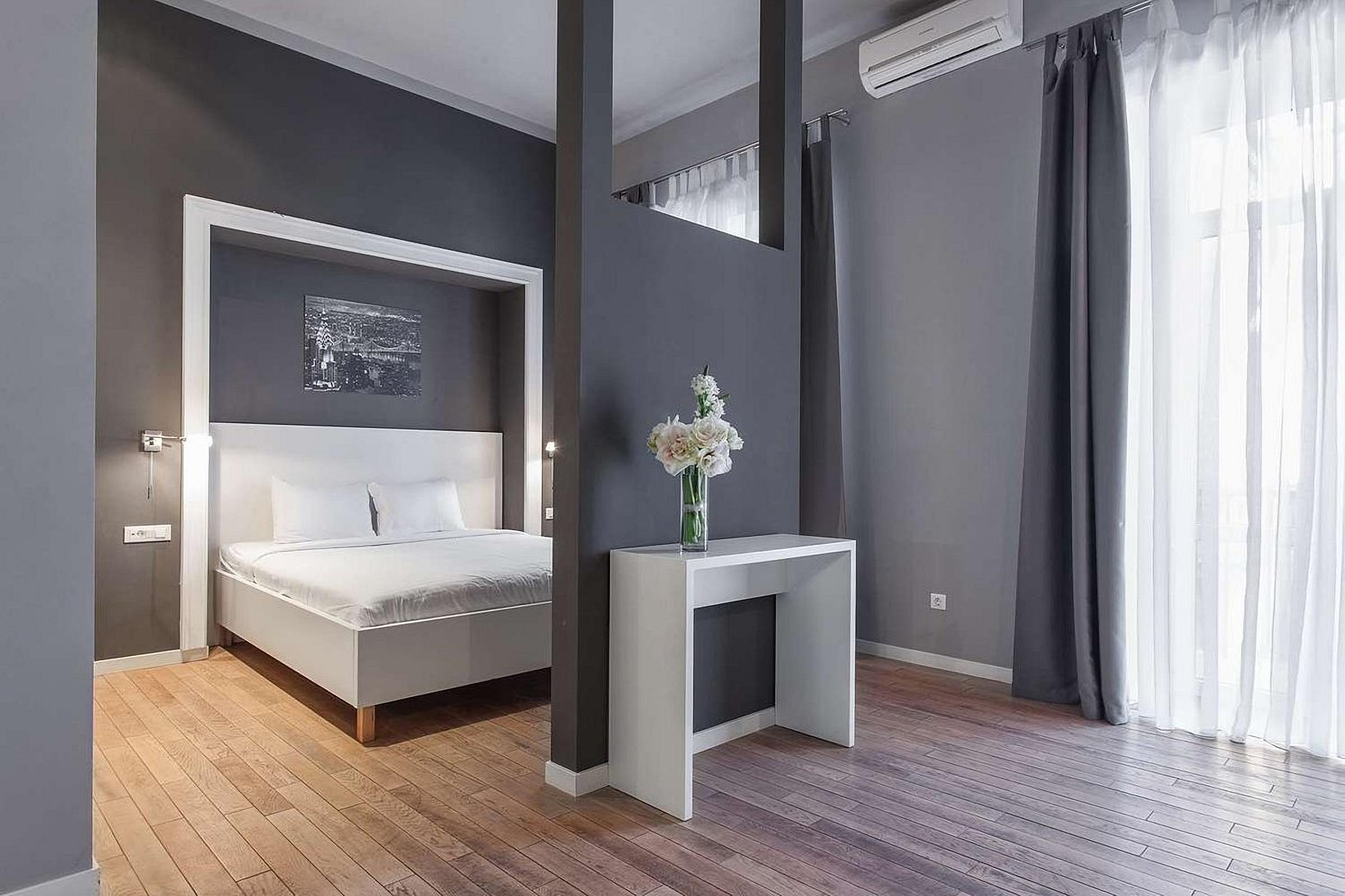 UNO Design Hotel Odessa Ukraine modern hotel room