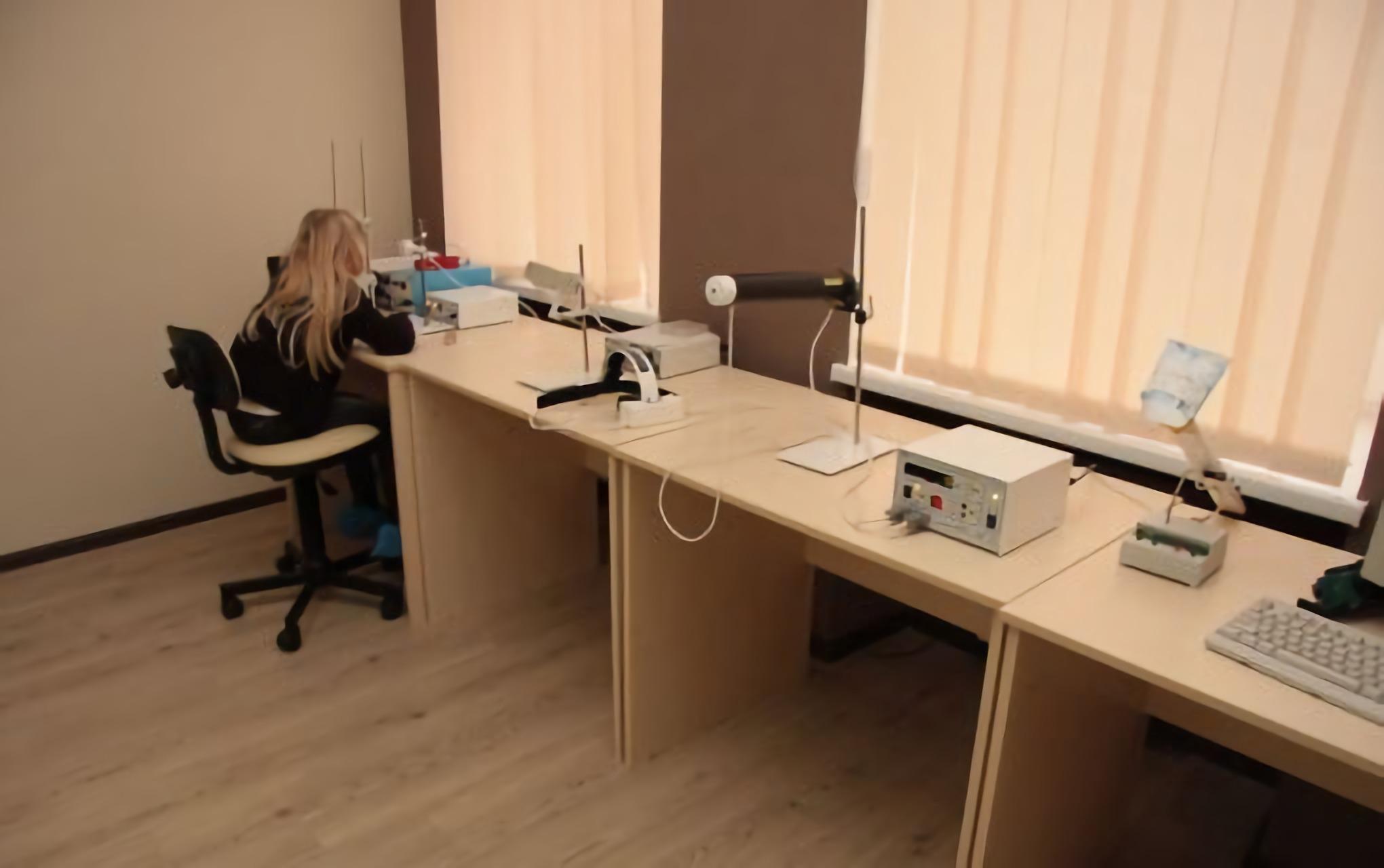 Ophthalmologic examination in the Novy Zir Kharkiv Clinic