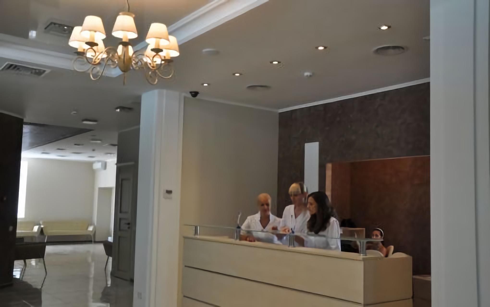 Reception of Novy Zir Clinic in Kharkiv