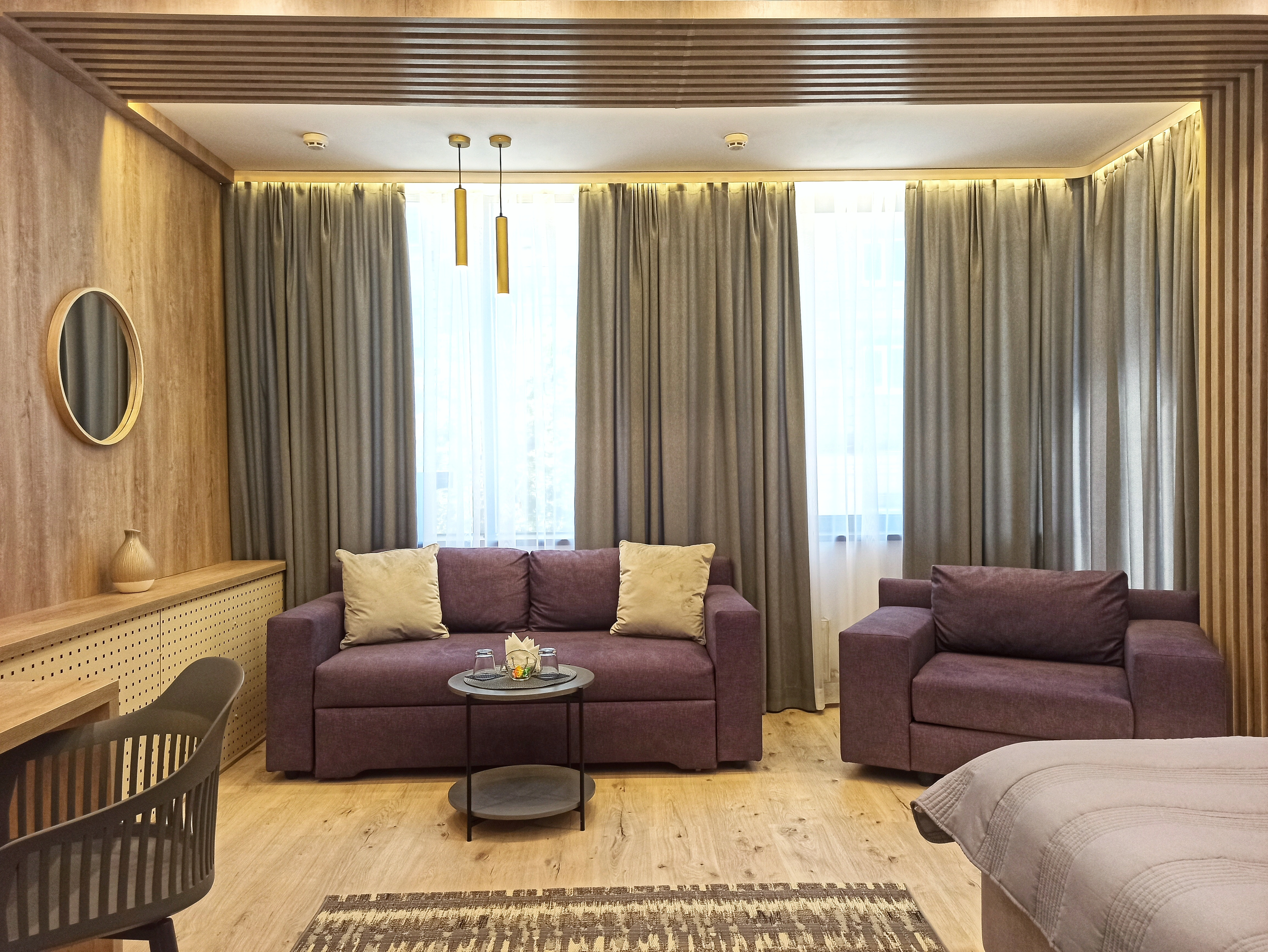 Sofas in the Suite