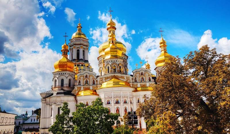 Kiev sights in Ukraine