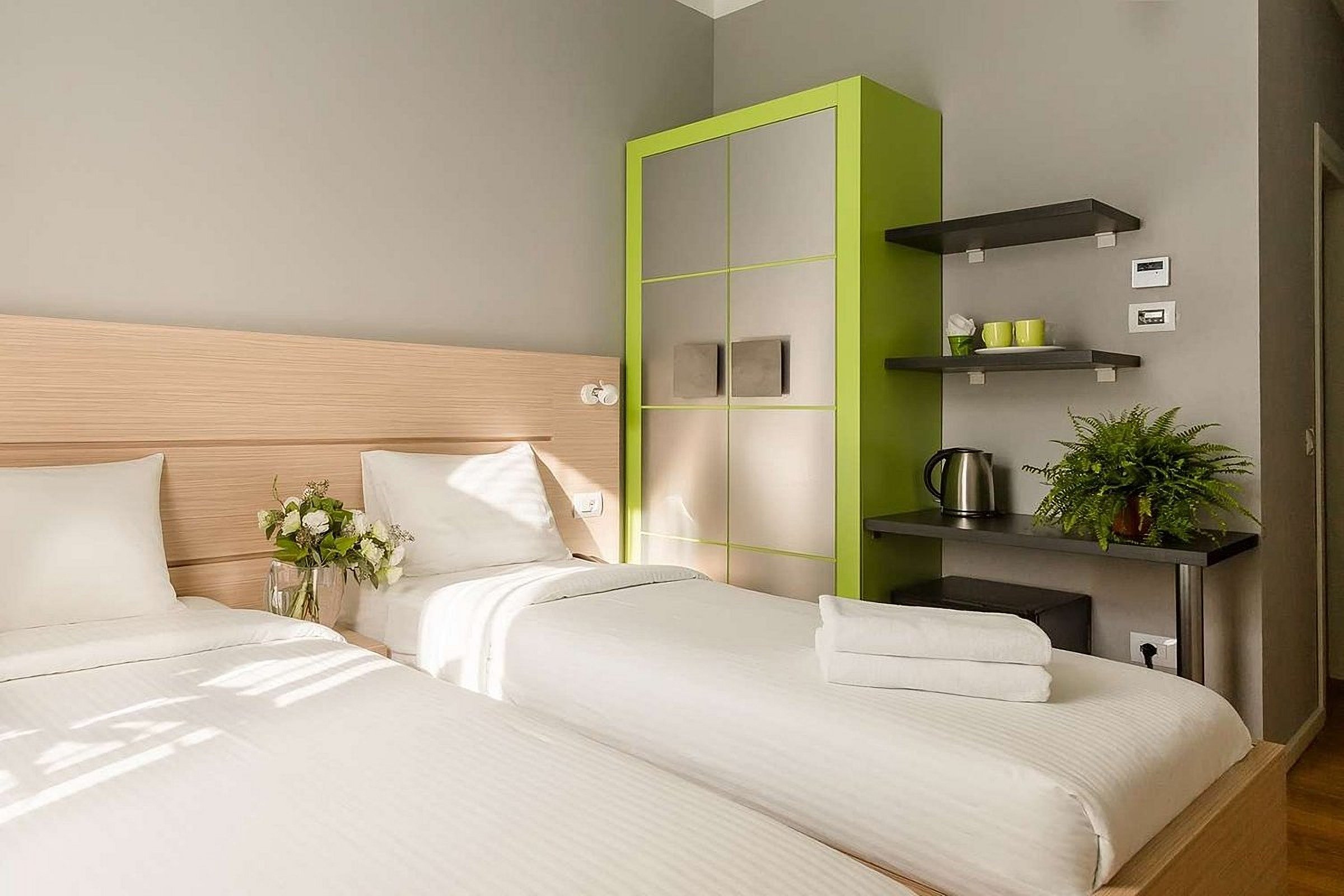 Double Room with Twin Beds at UNO Design Hotel Odessa Ukraine