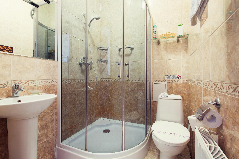 Shower room in Hotel Viva