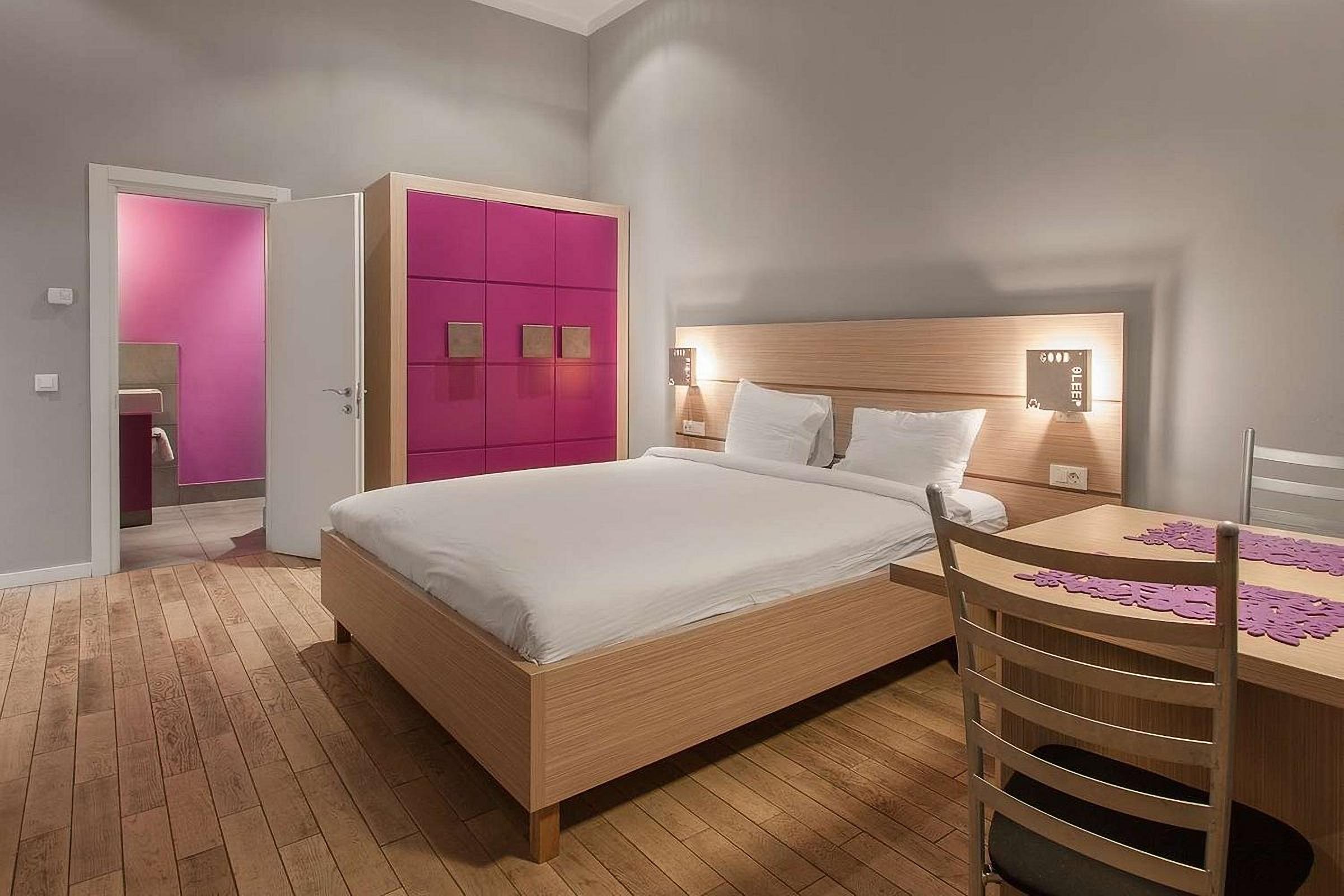 Rooms at UNO Design Hotel Odessa Ukraine
