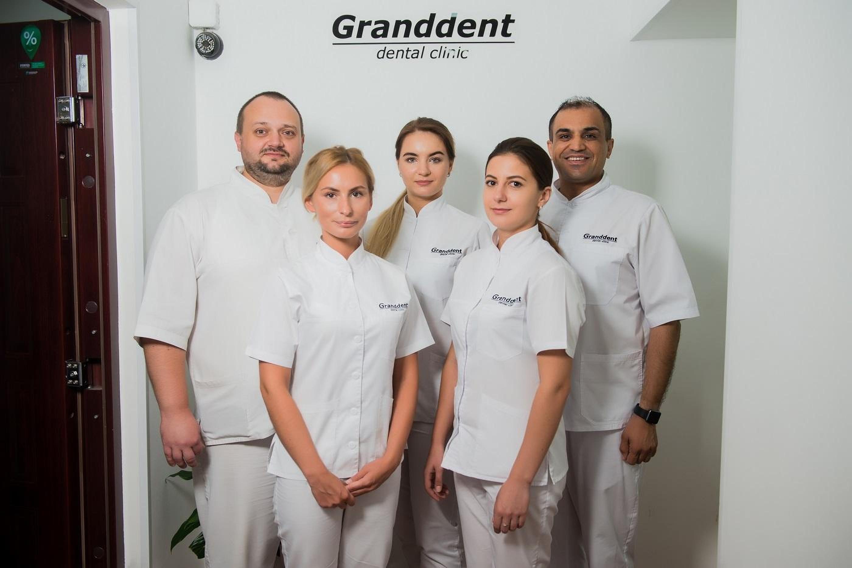 Dentists in the clinic Granddent in Odessa Ukraine