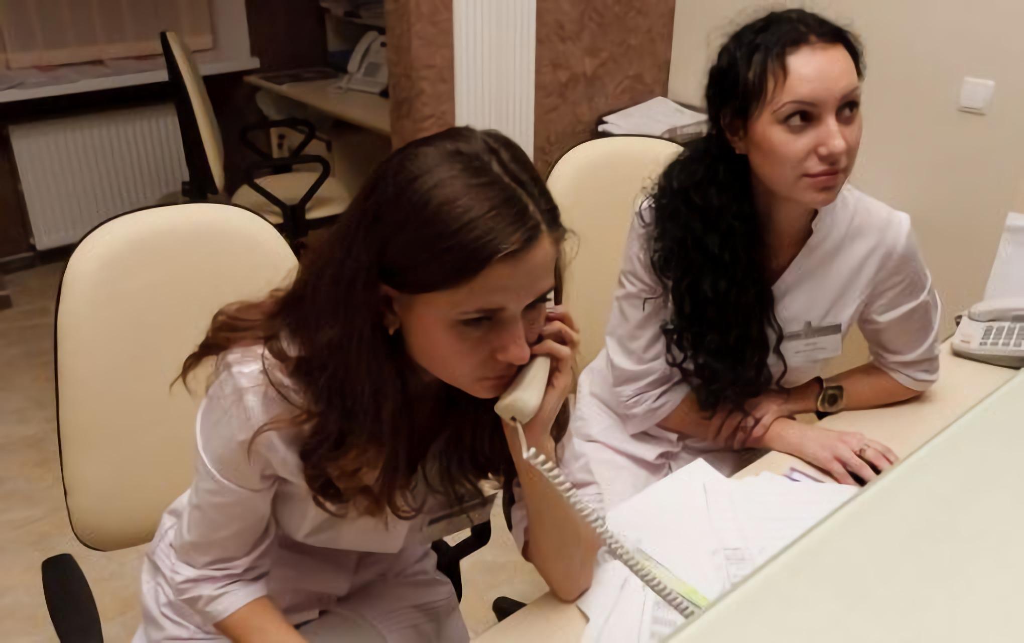 Staff of Novy Zir Clinic in Kharkiv