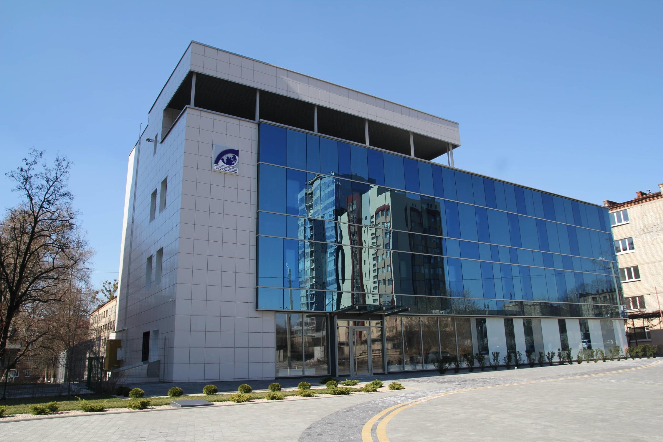 The building of the international medical center ophthalmic