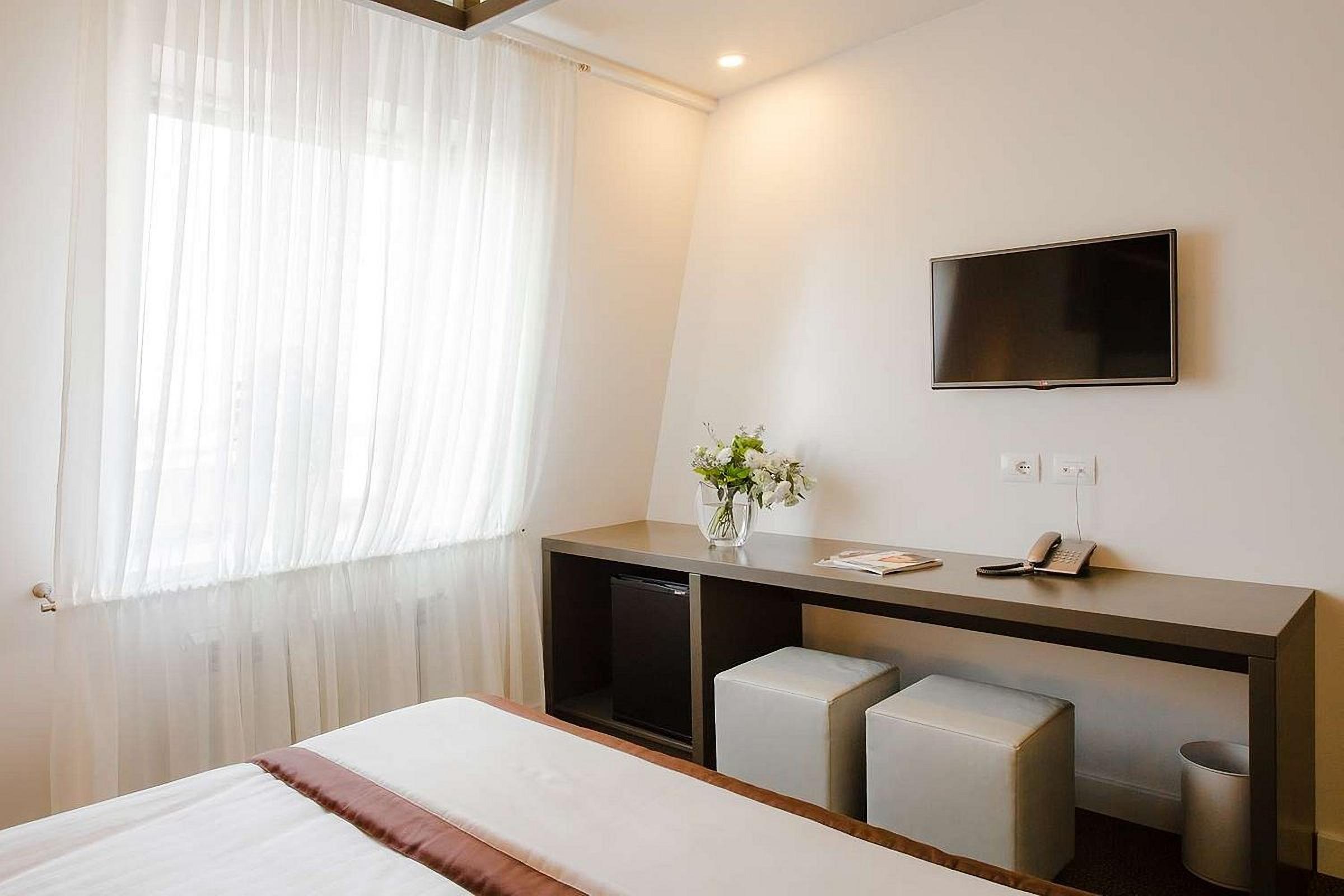 Standard Room Furnishings at UNO Design Hotel Odessa Ukraine